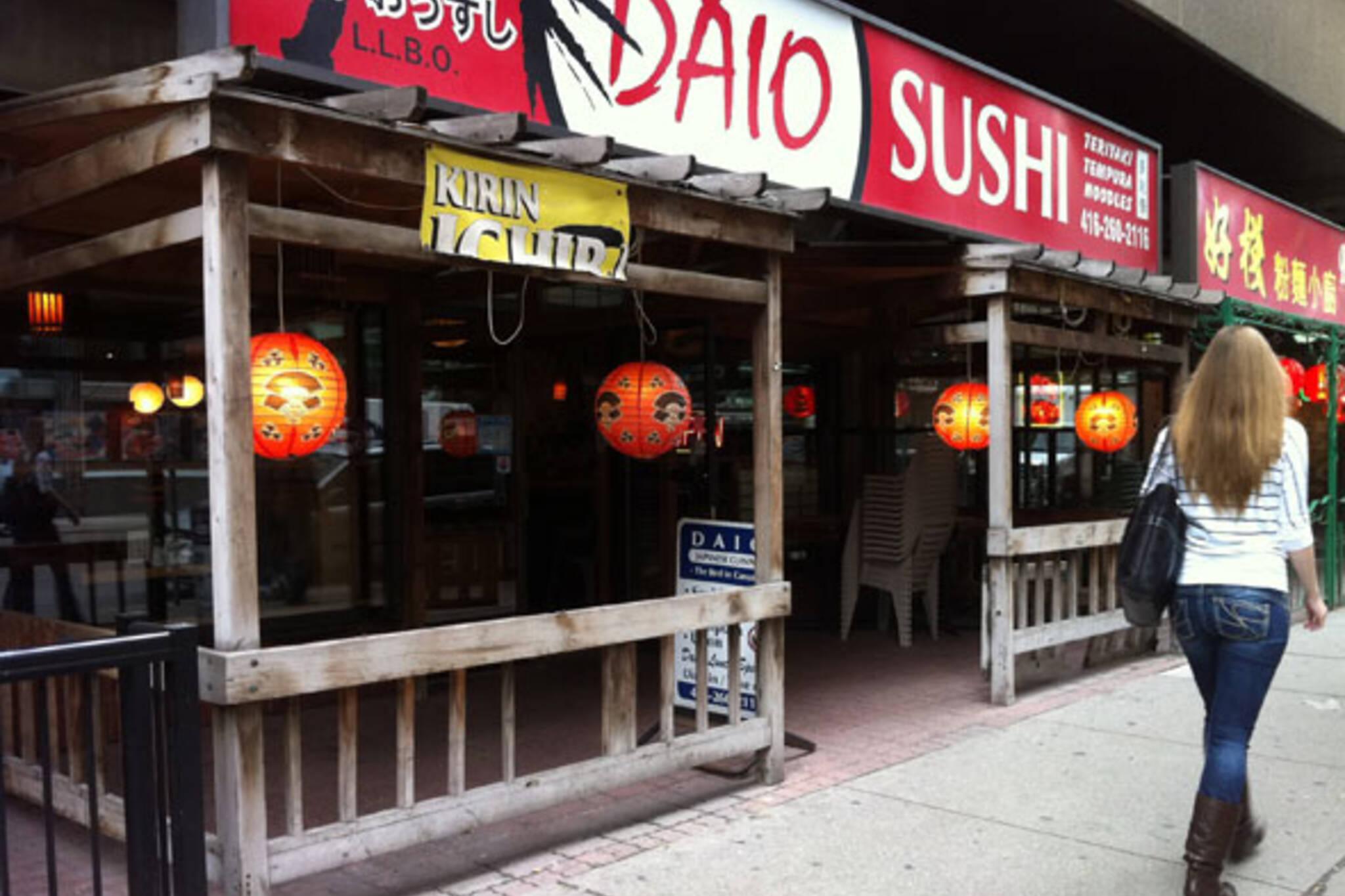 Daio Sushi Toronto
