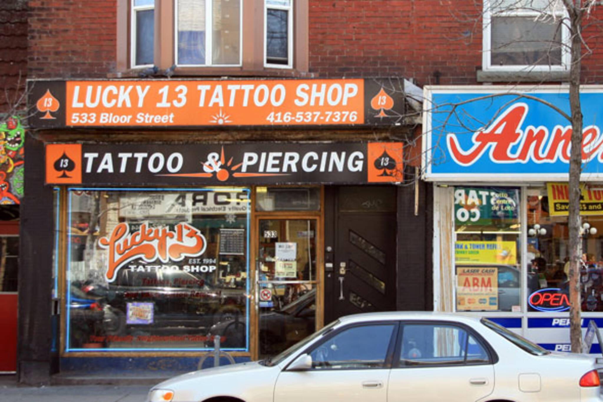 Lucky 13 Tattoos