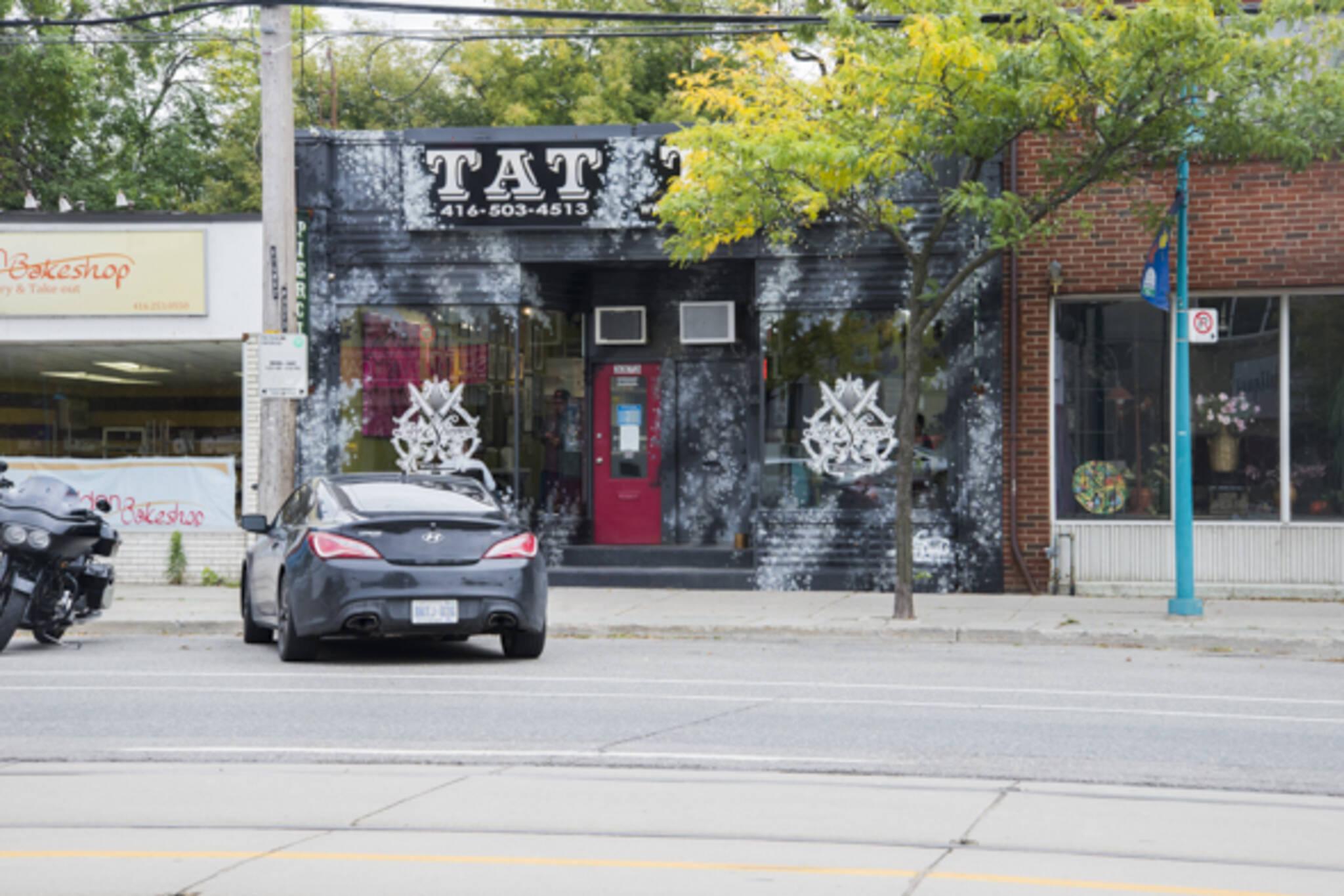 Ace And Sword Tattoo Toronto