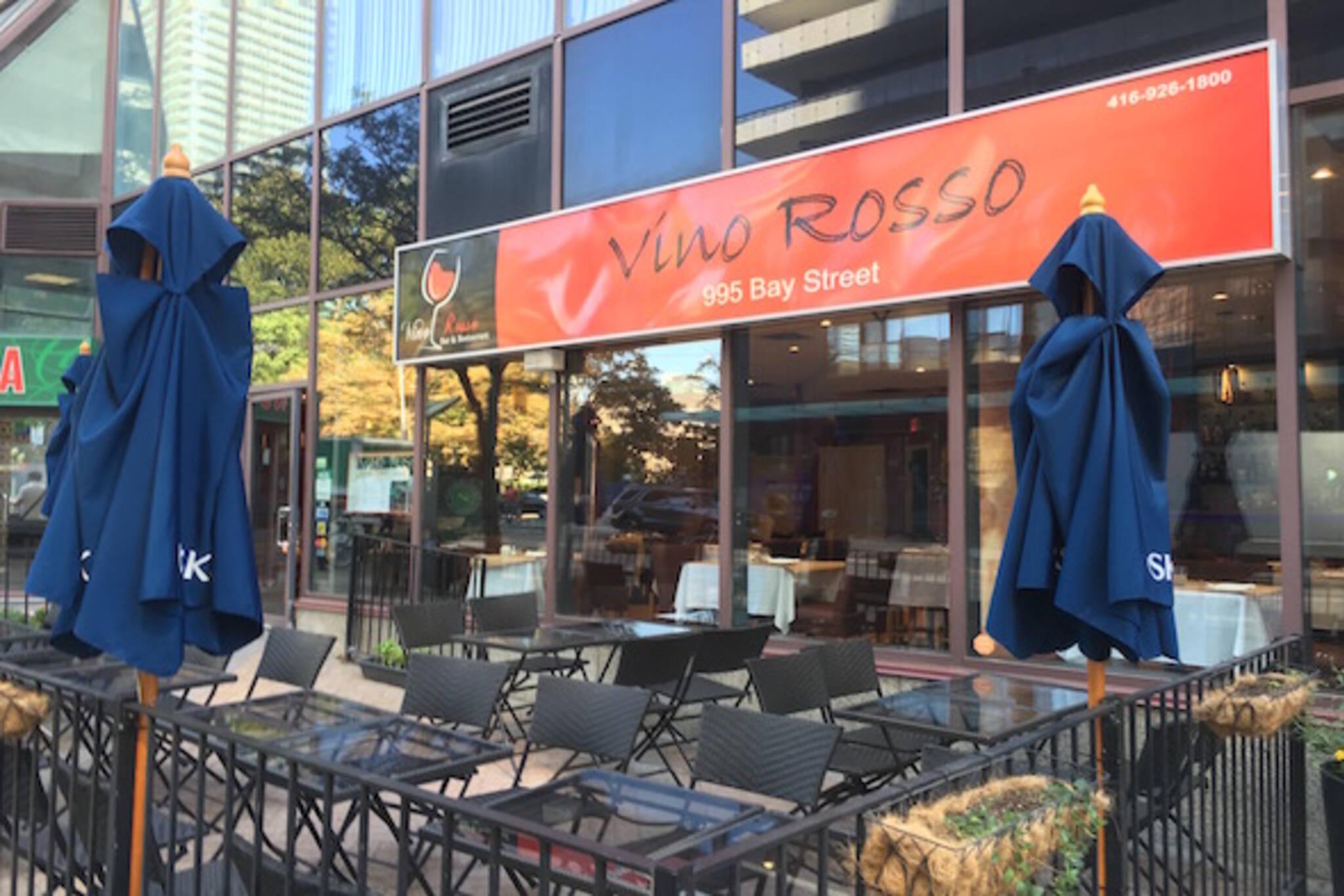 Vino Rosso Bar Restaurant Toronto