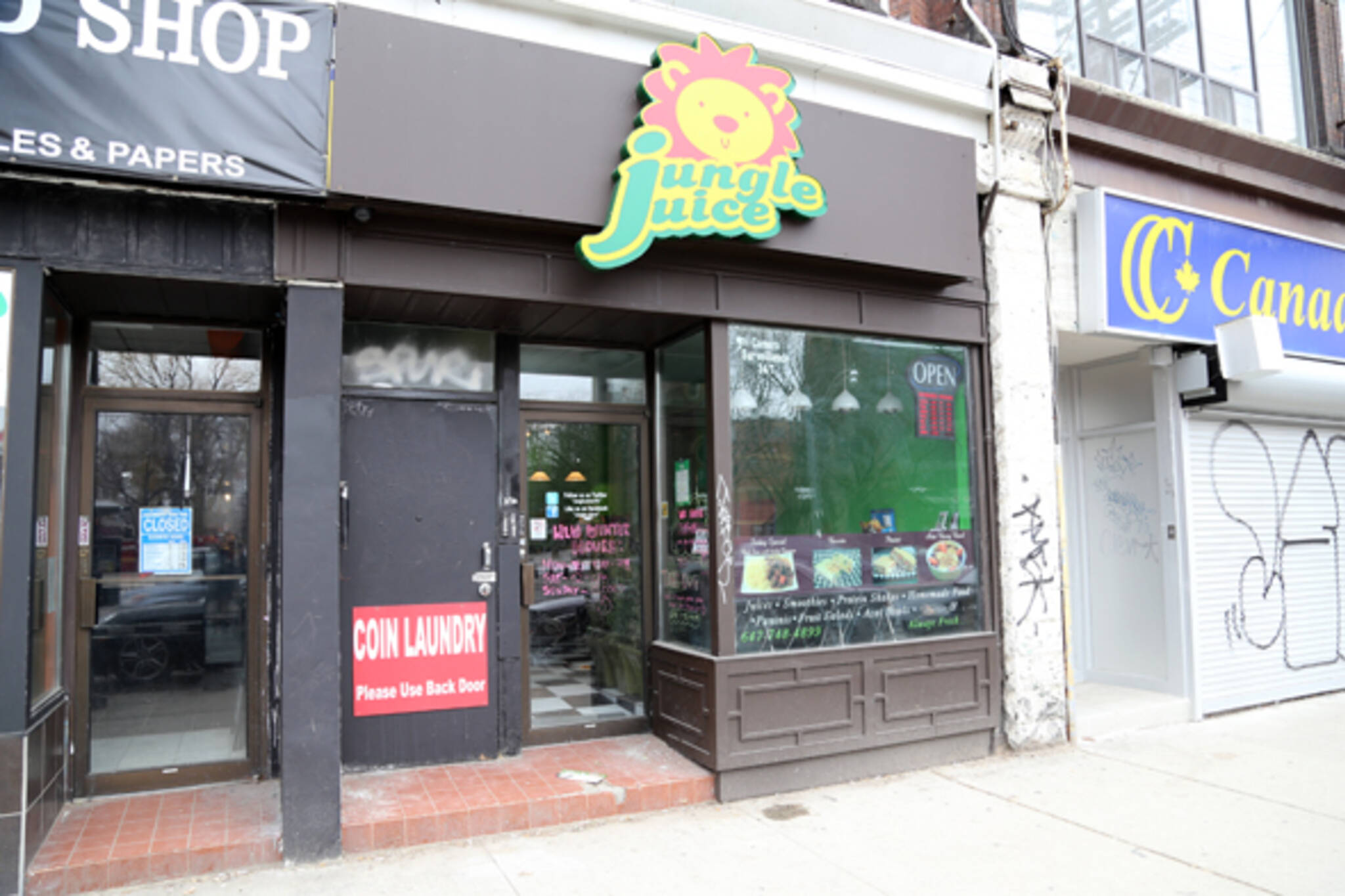 Jungle Juice Toronto