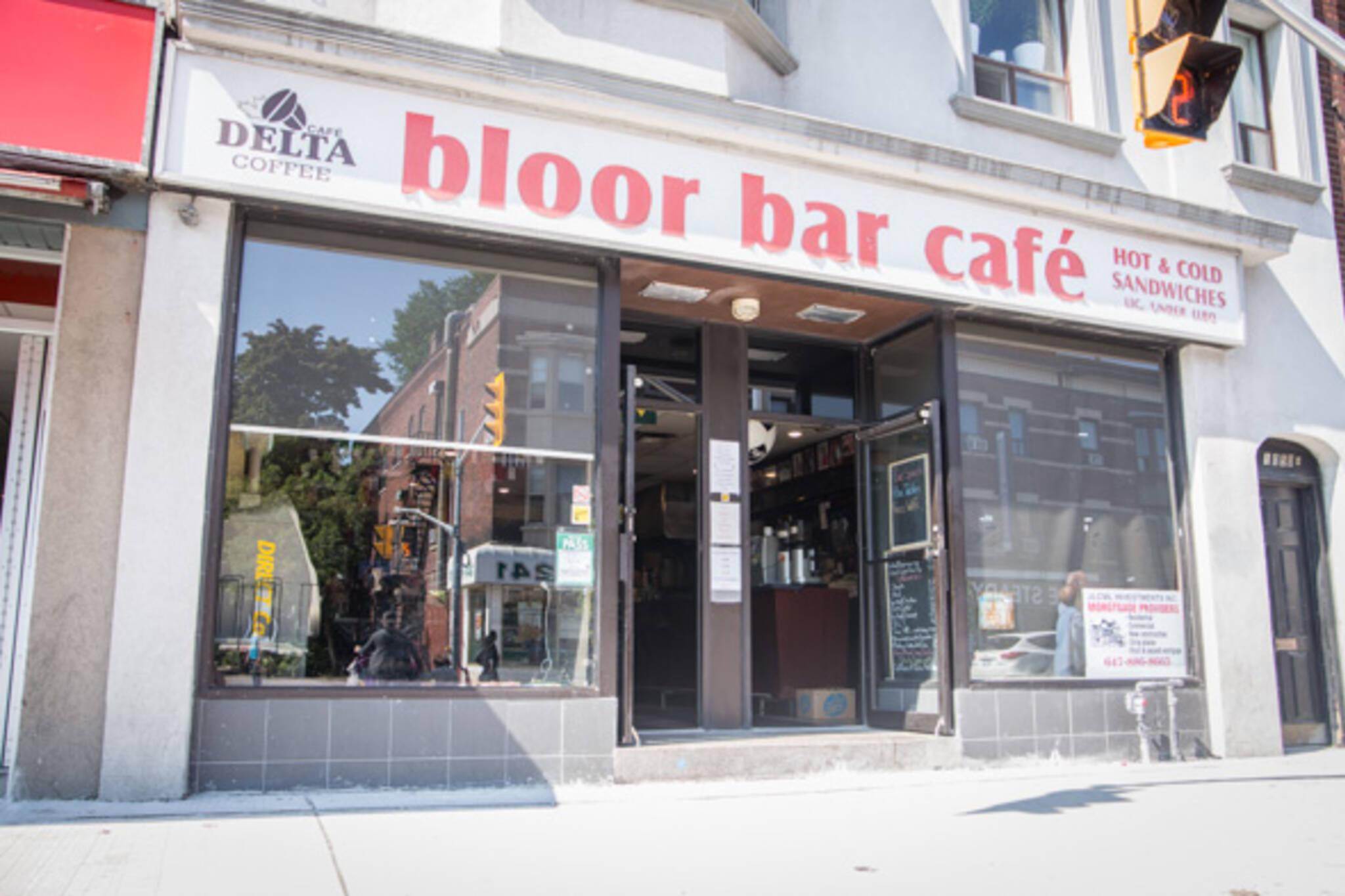 bloor bar cafe toronto