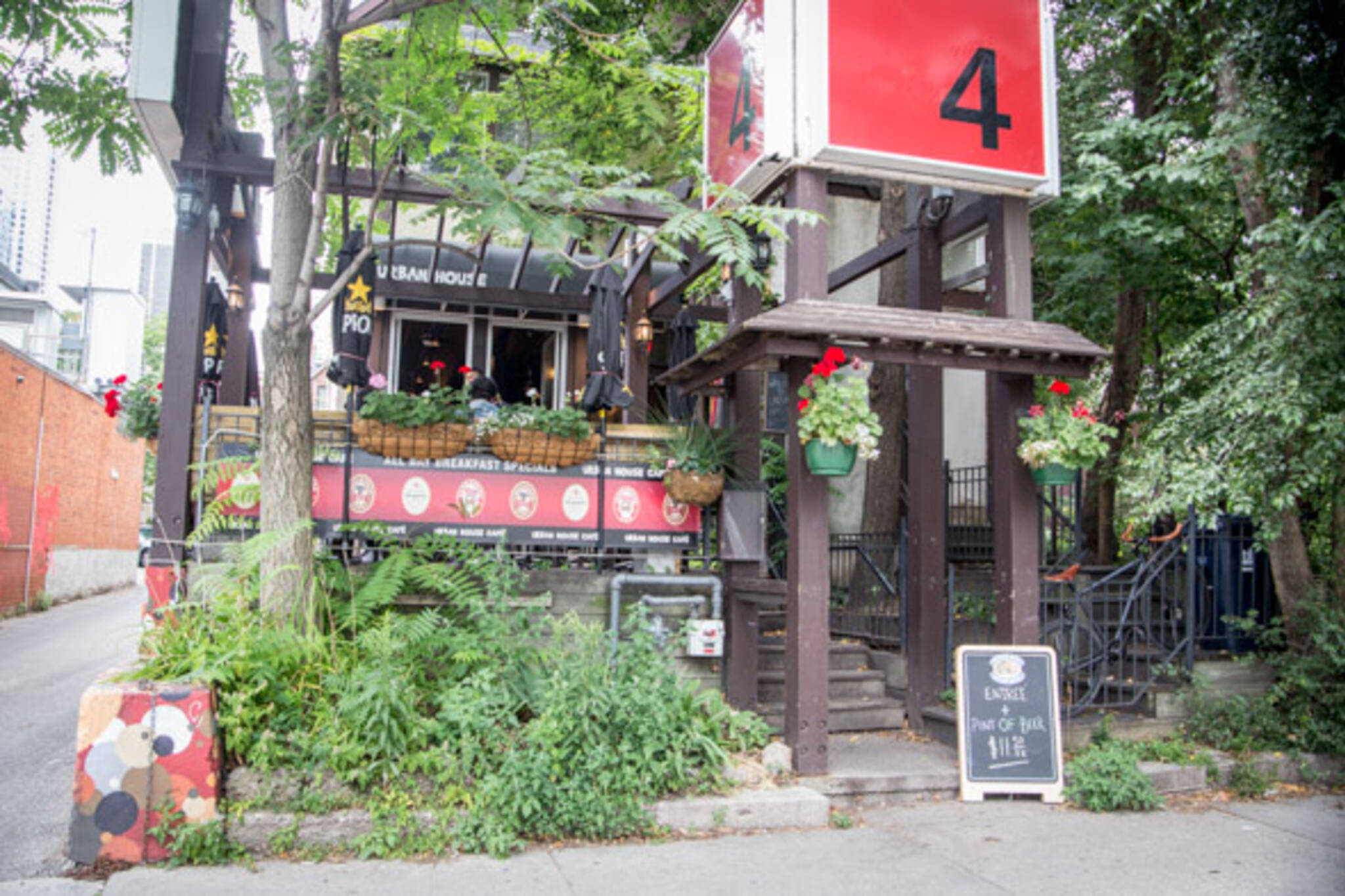 urban house cafe toronto
