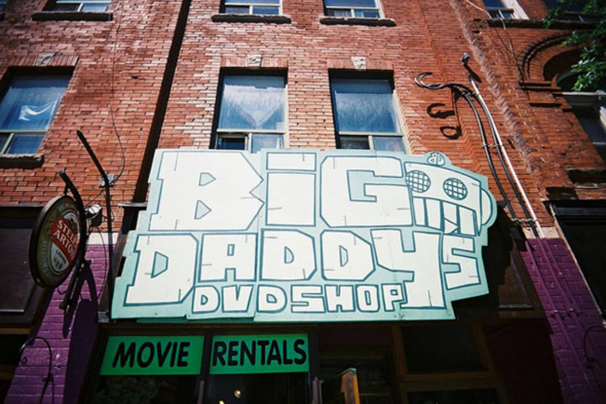 big daddys dvd shop