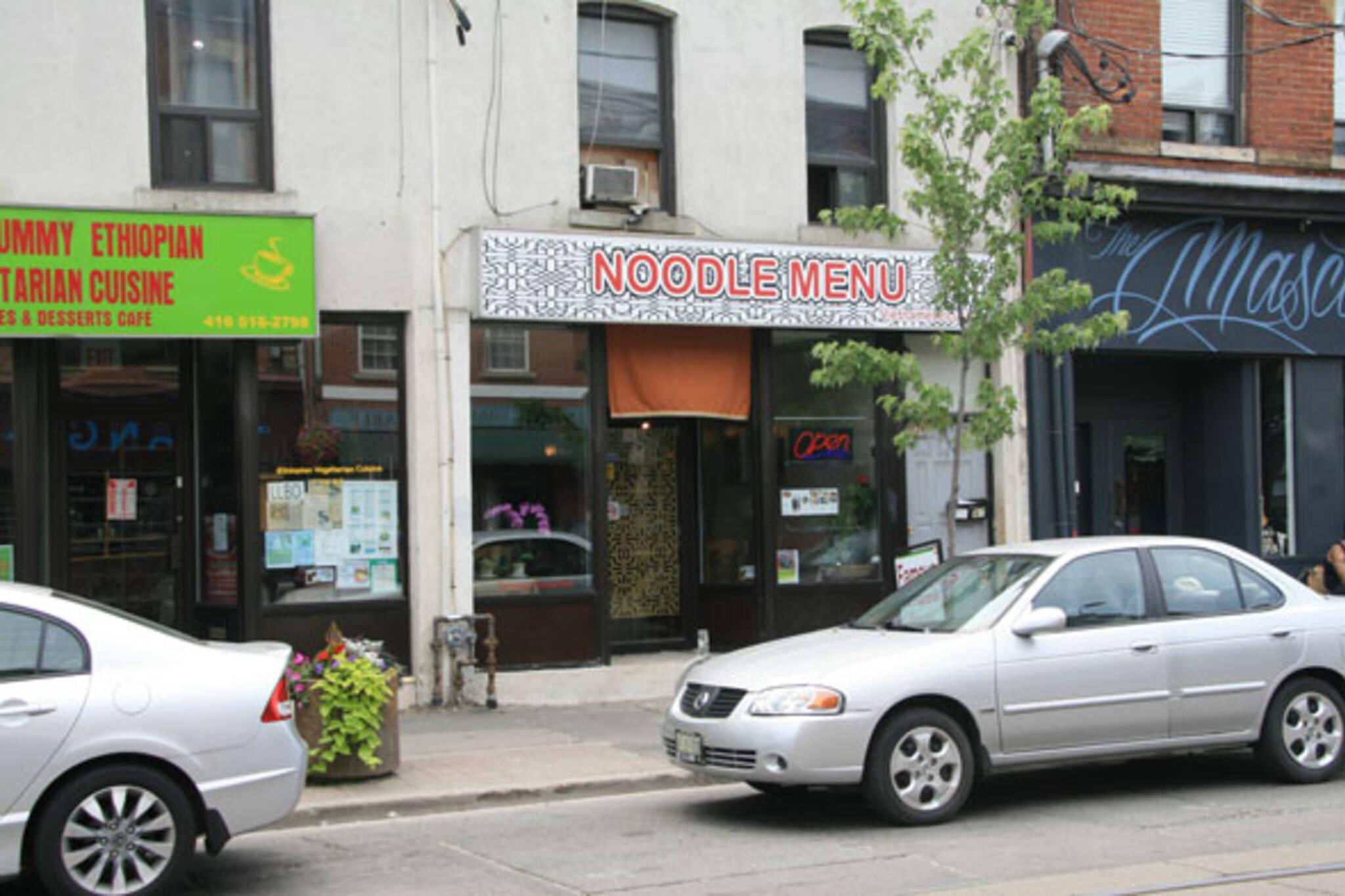 Noodle Menu Toronto