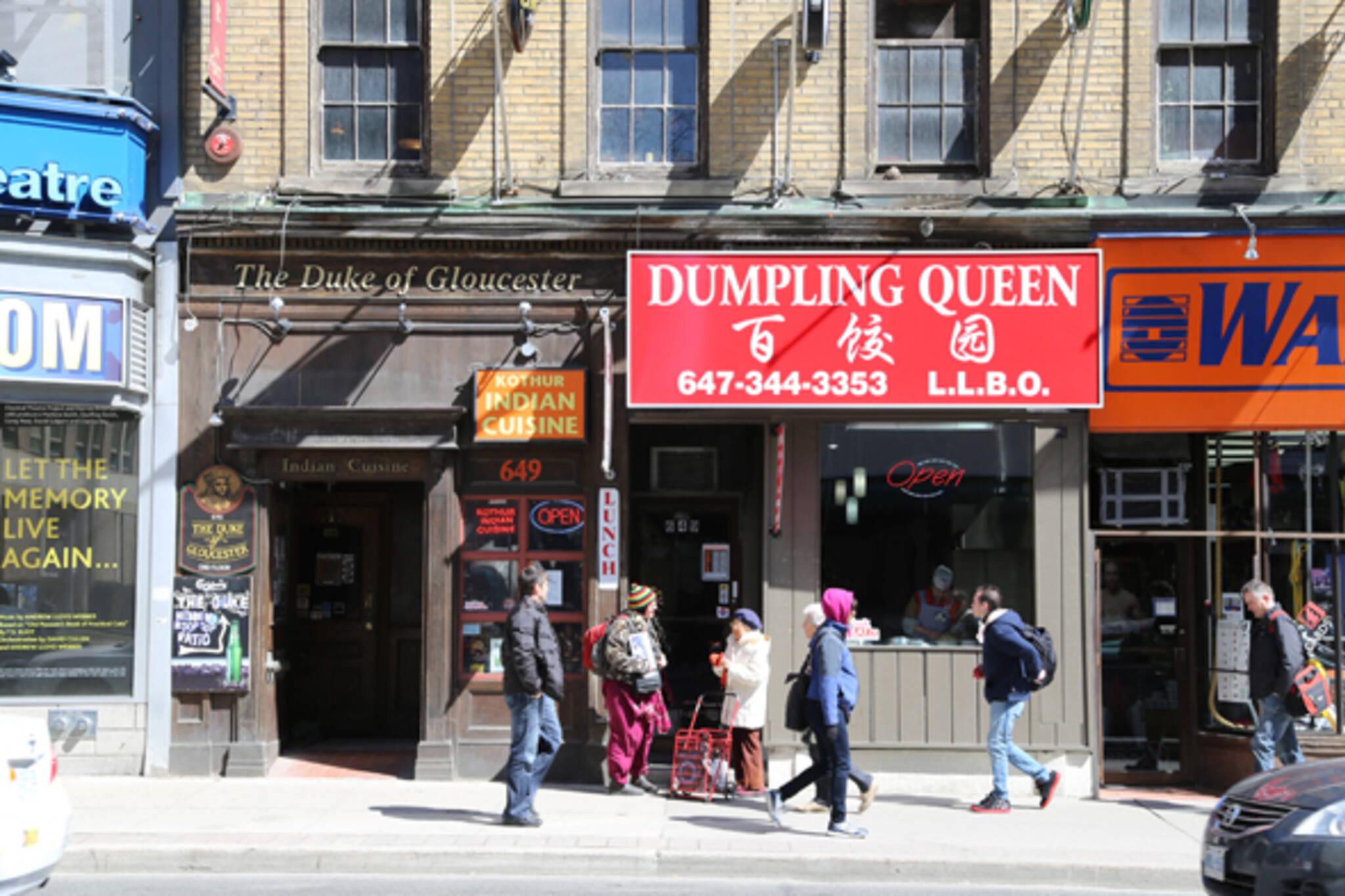 Dumpling Queen Yonge Toronto