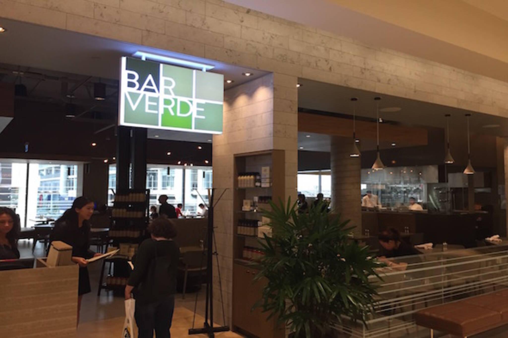 Bar Verde Toronto
