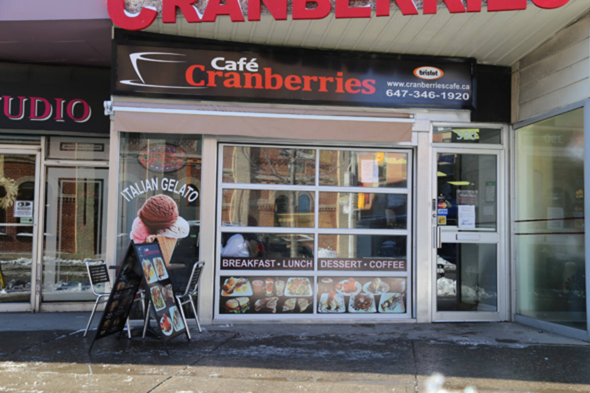 Cafe Cranberries toronto