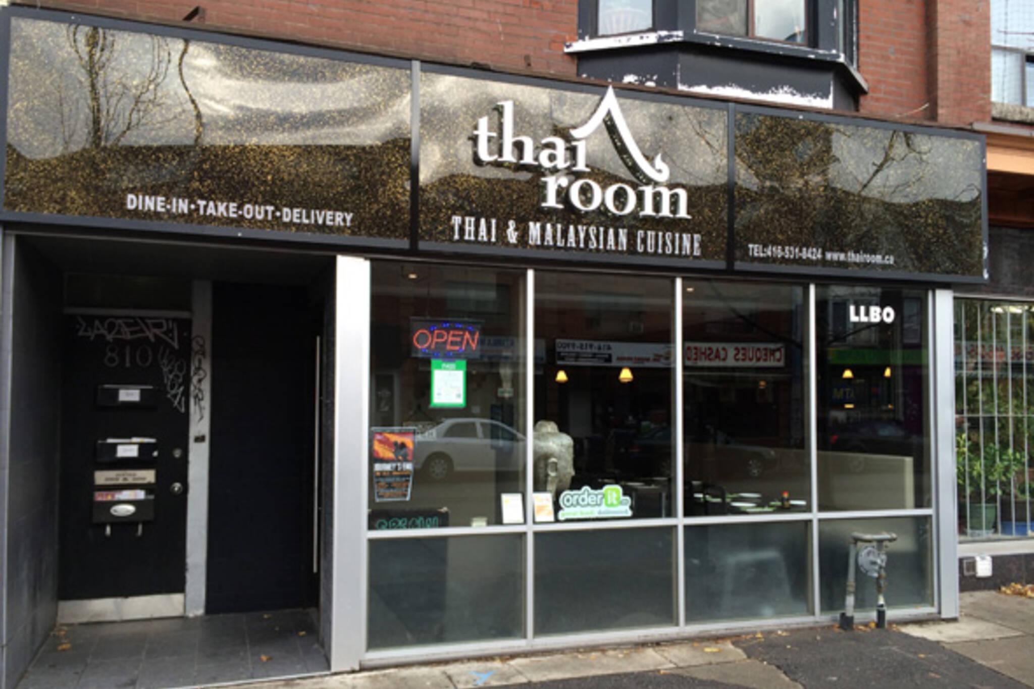 The Thai Room Bloor Blogto Toronto
