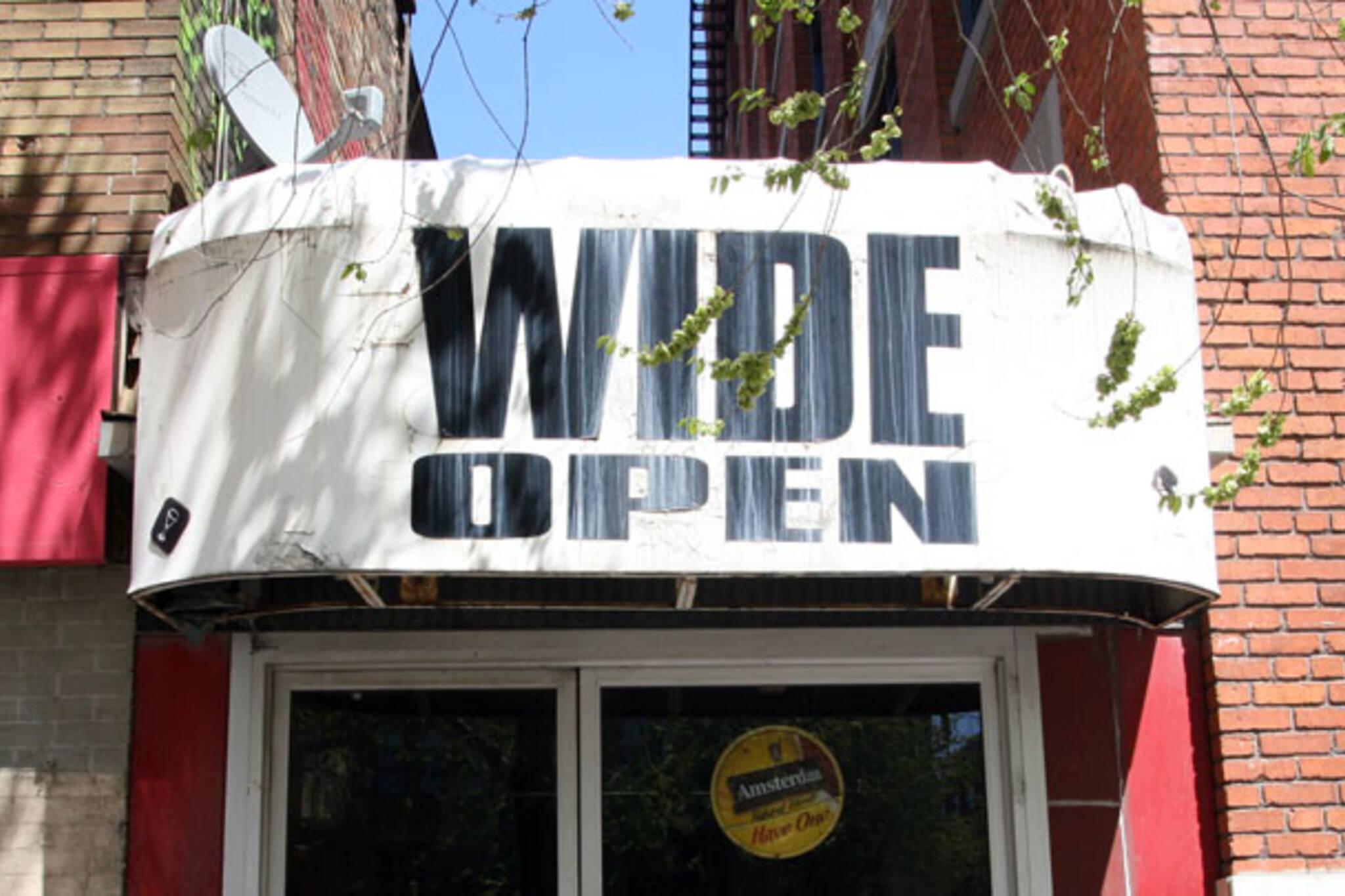 wide open toronto