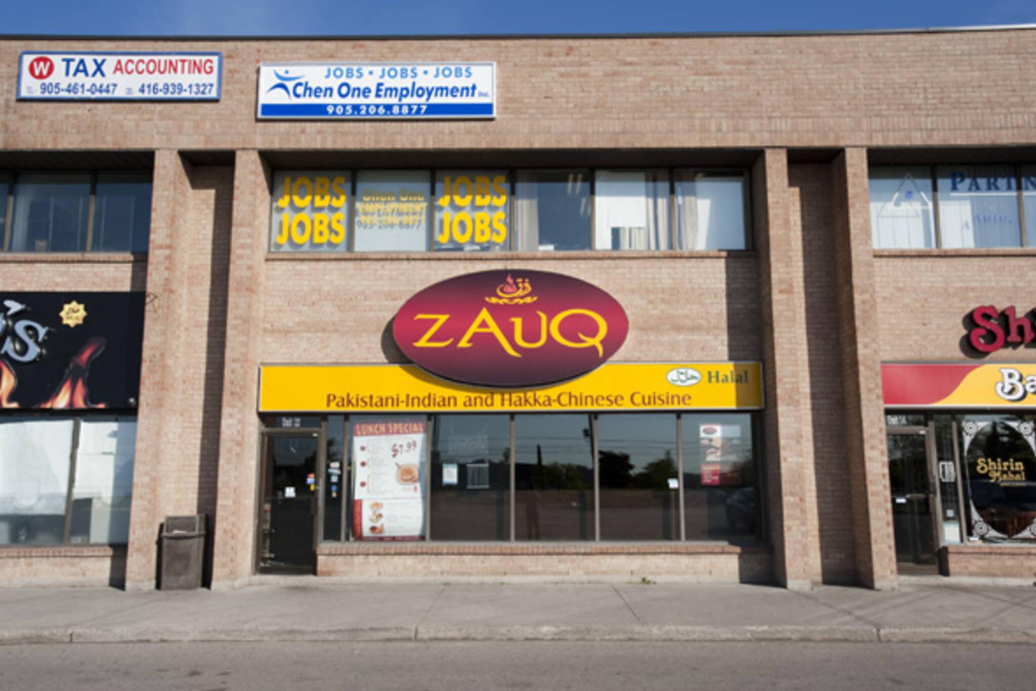 zauq mississauga pakistani restaurant