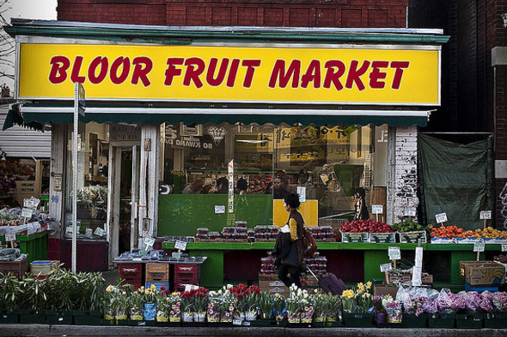 Bloor Fruit Market Blogto Toronto