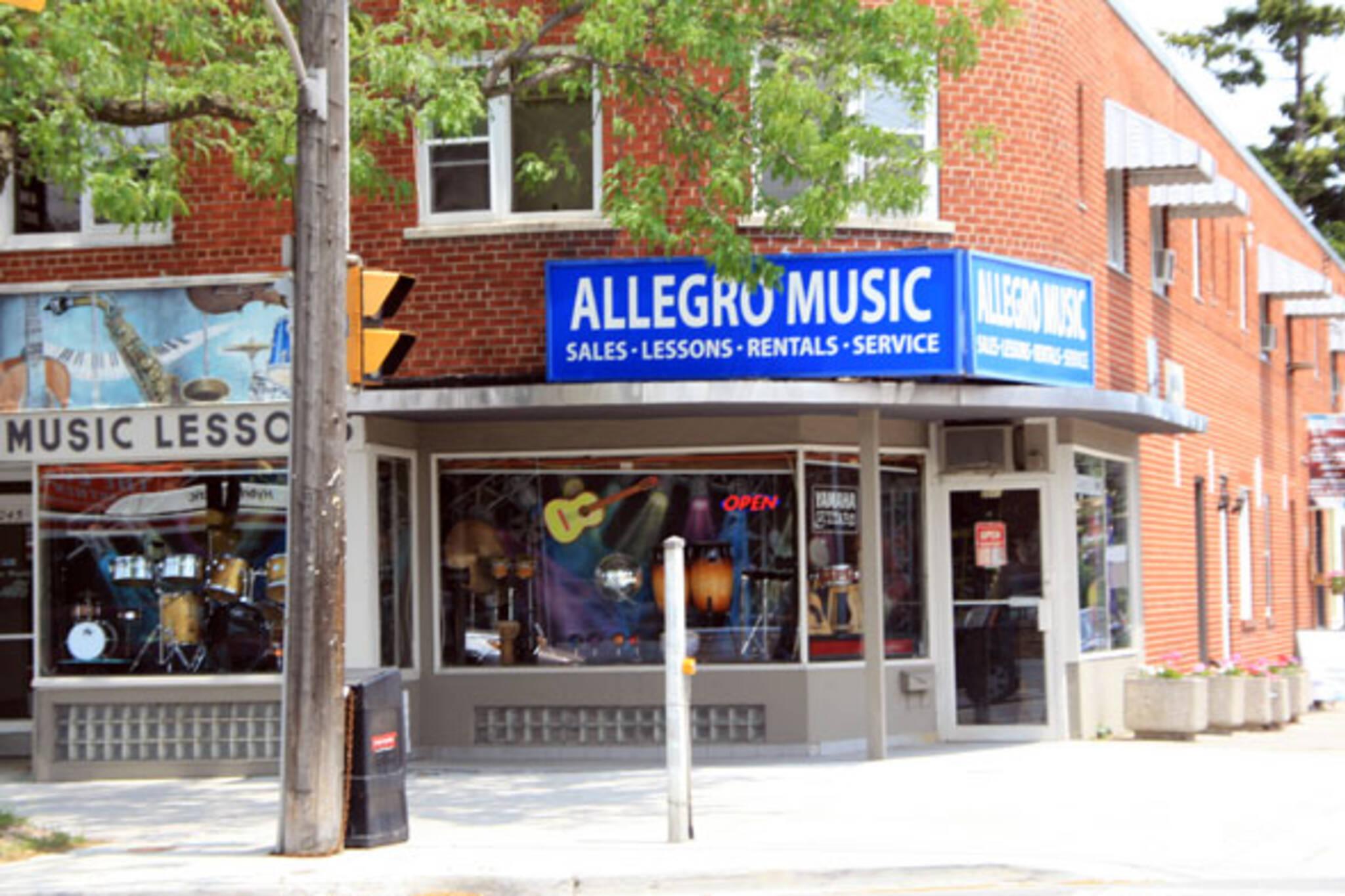 Allegro Music Toronto