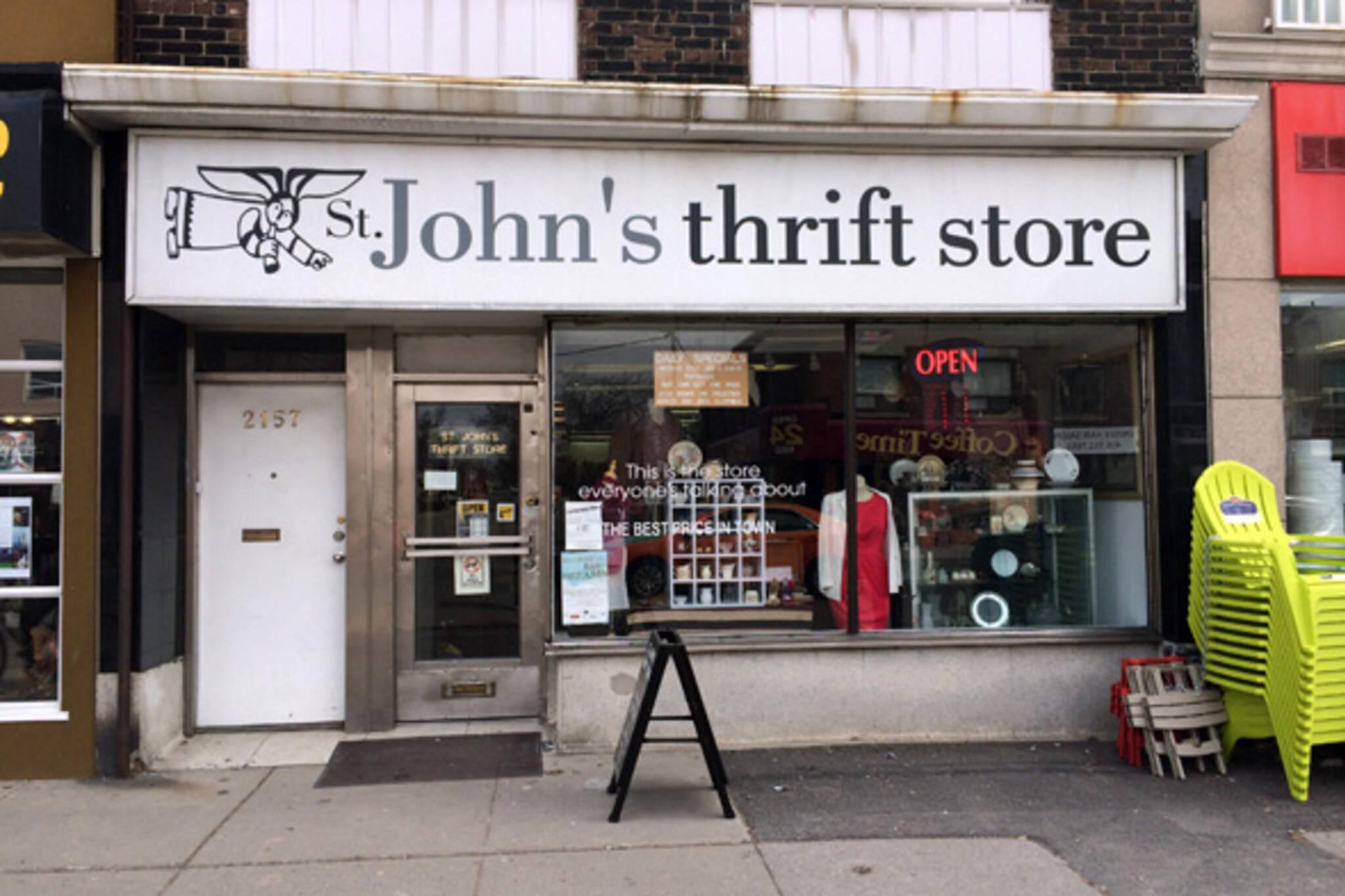 st johns thrift store