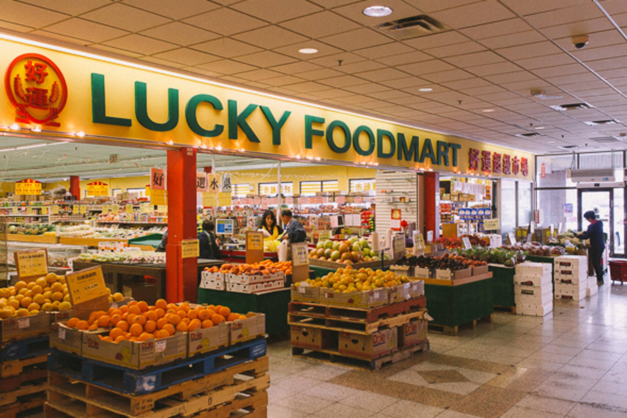 lucky food mart