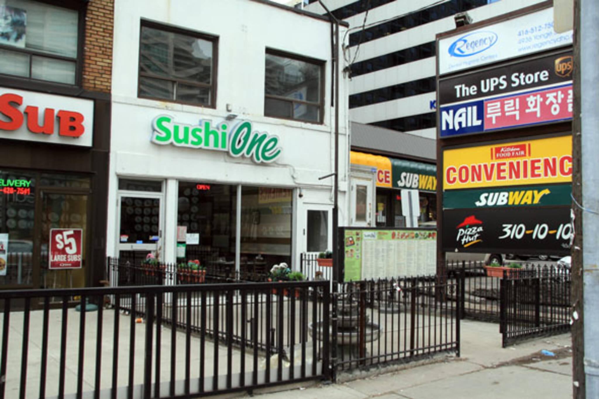Sushi One Toronto