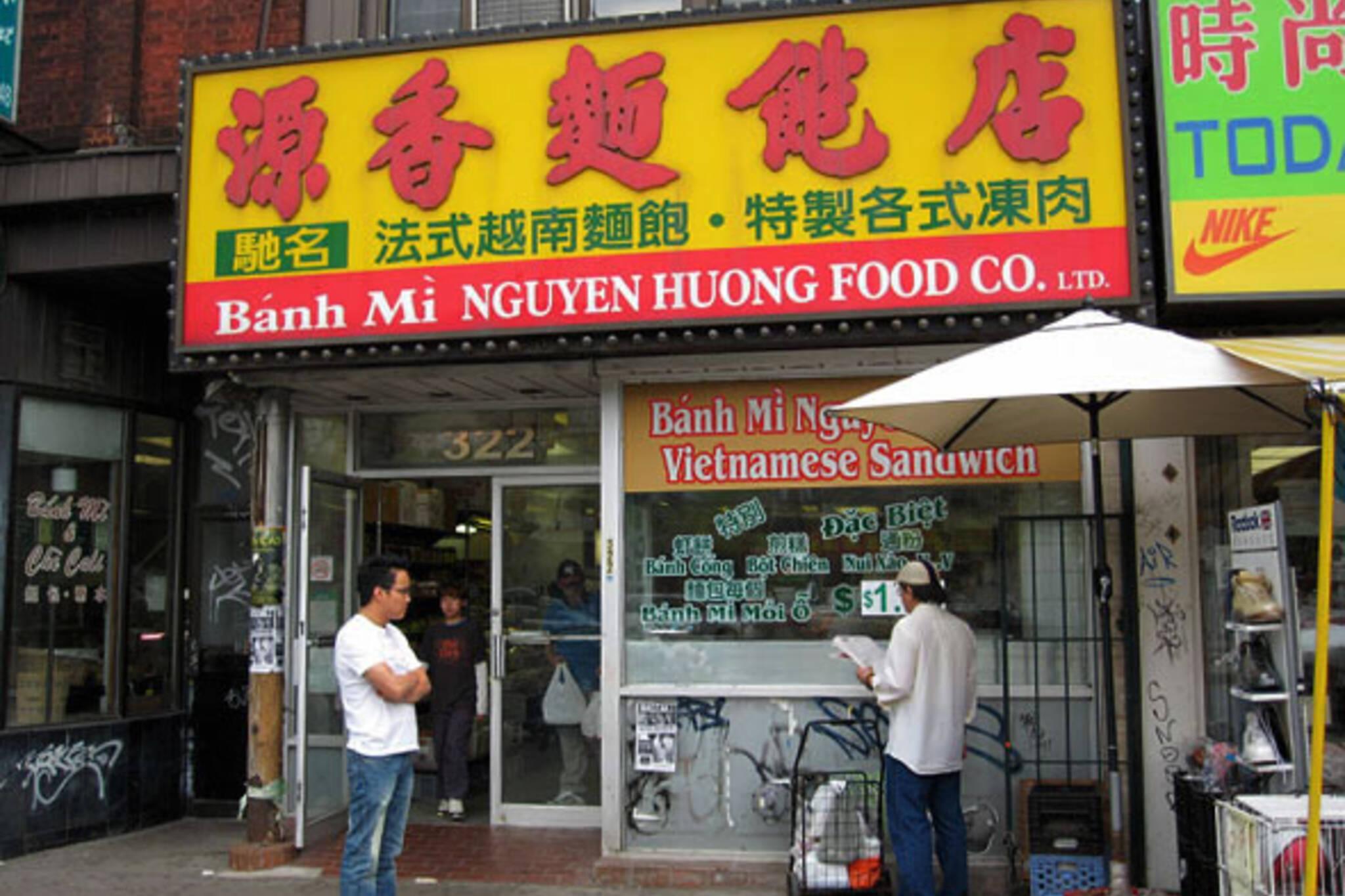 Banh Mi Nguyen Huong Vietnamese Sandwiches Toronto