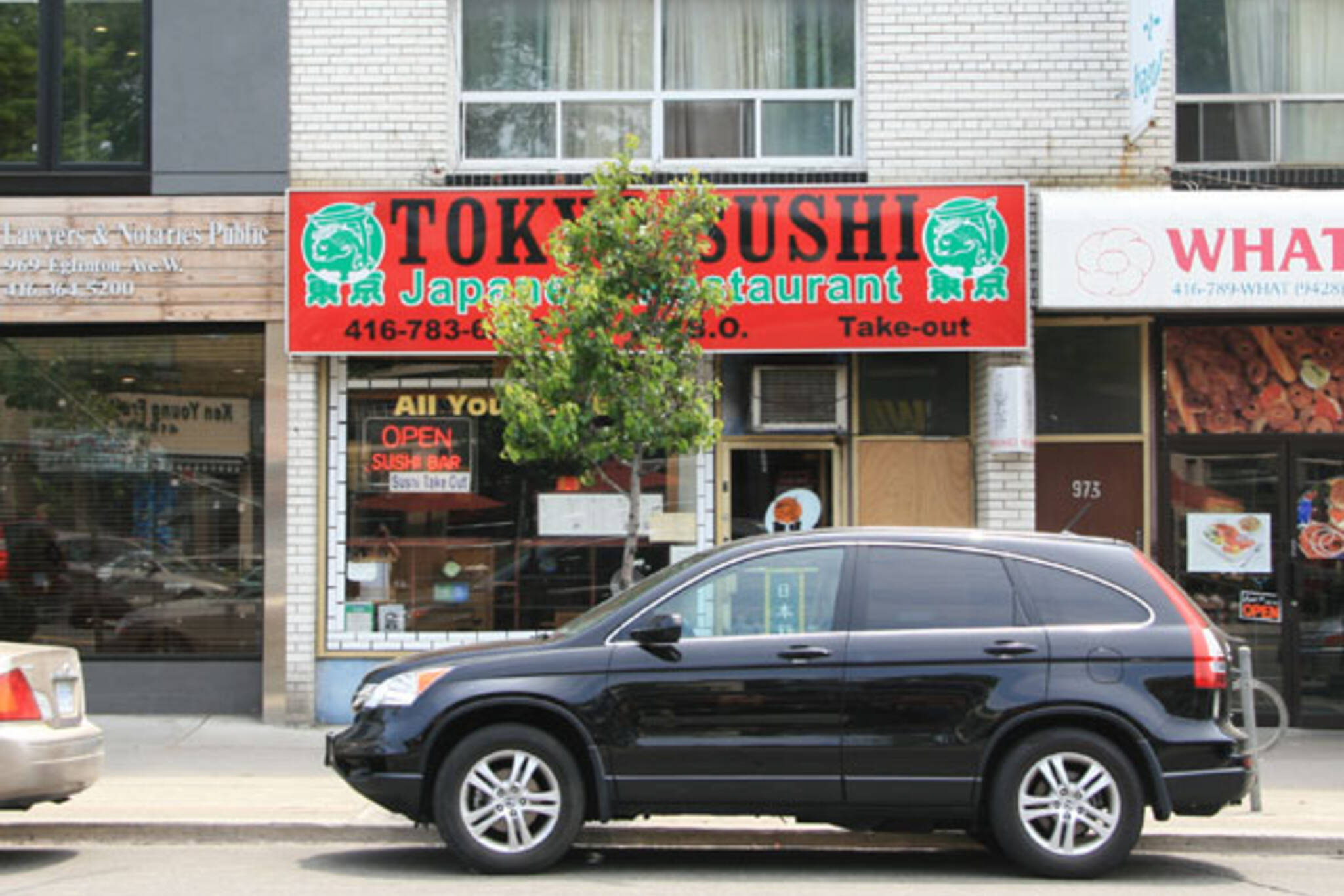 Tokyo Sushi (Eglinton W)