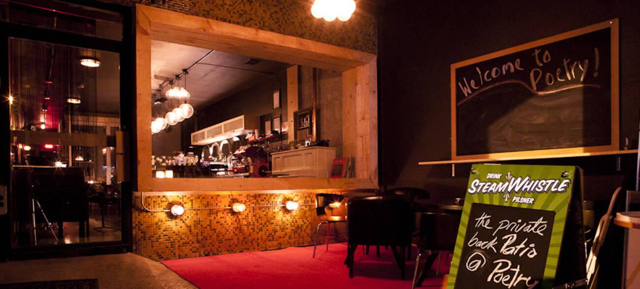 Poetry Jazz Cafe Blogto Toronto