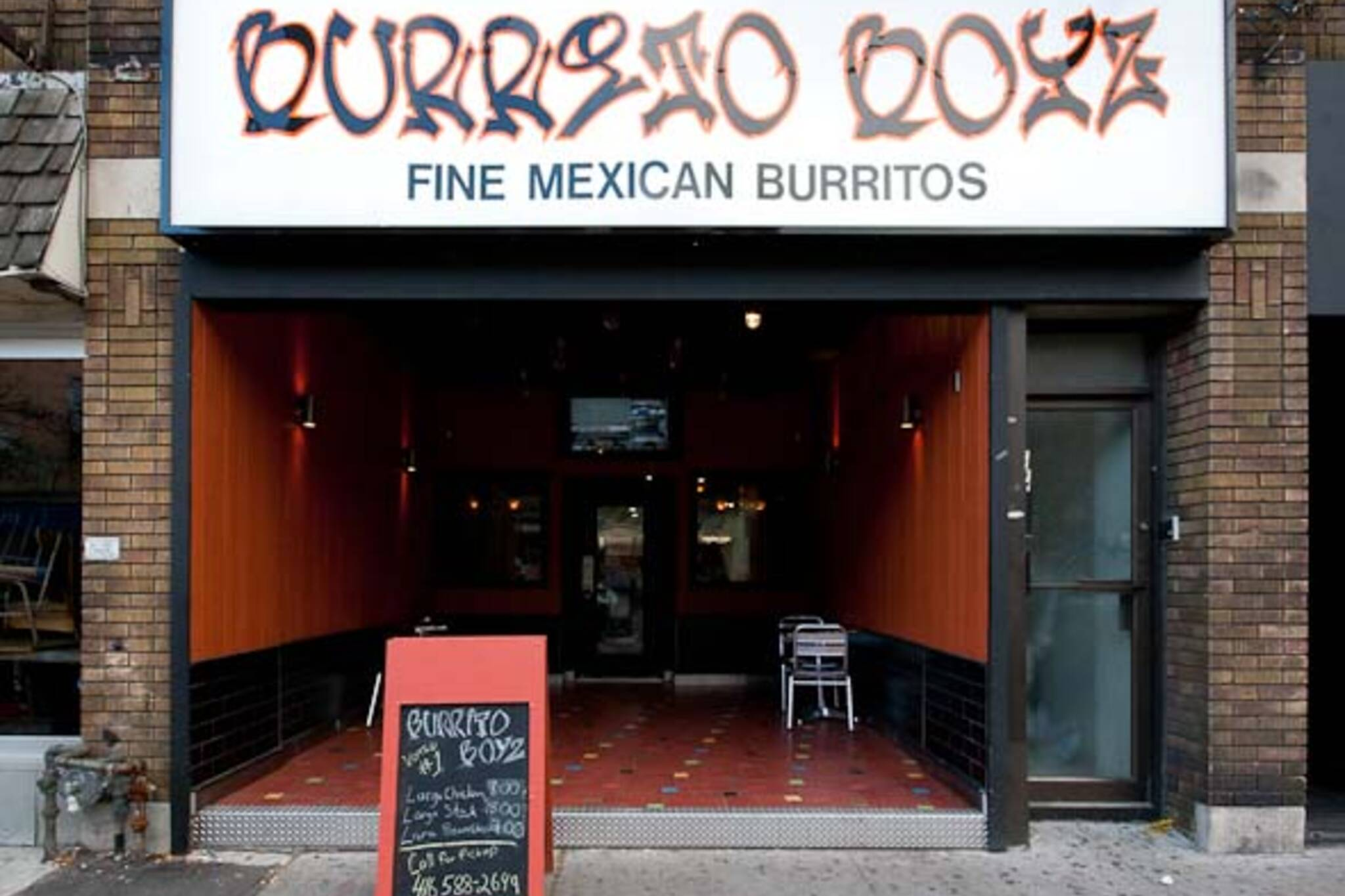 Burrito Boyz College St Blogto Toronto