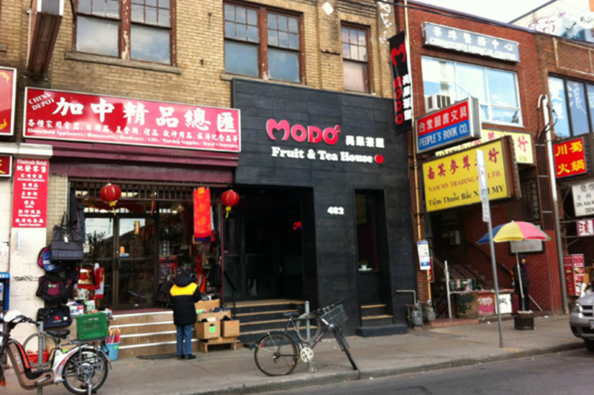 Toronto Modo Fruit Tea House