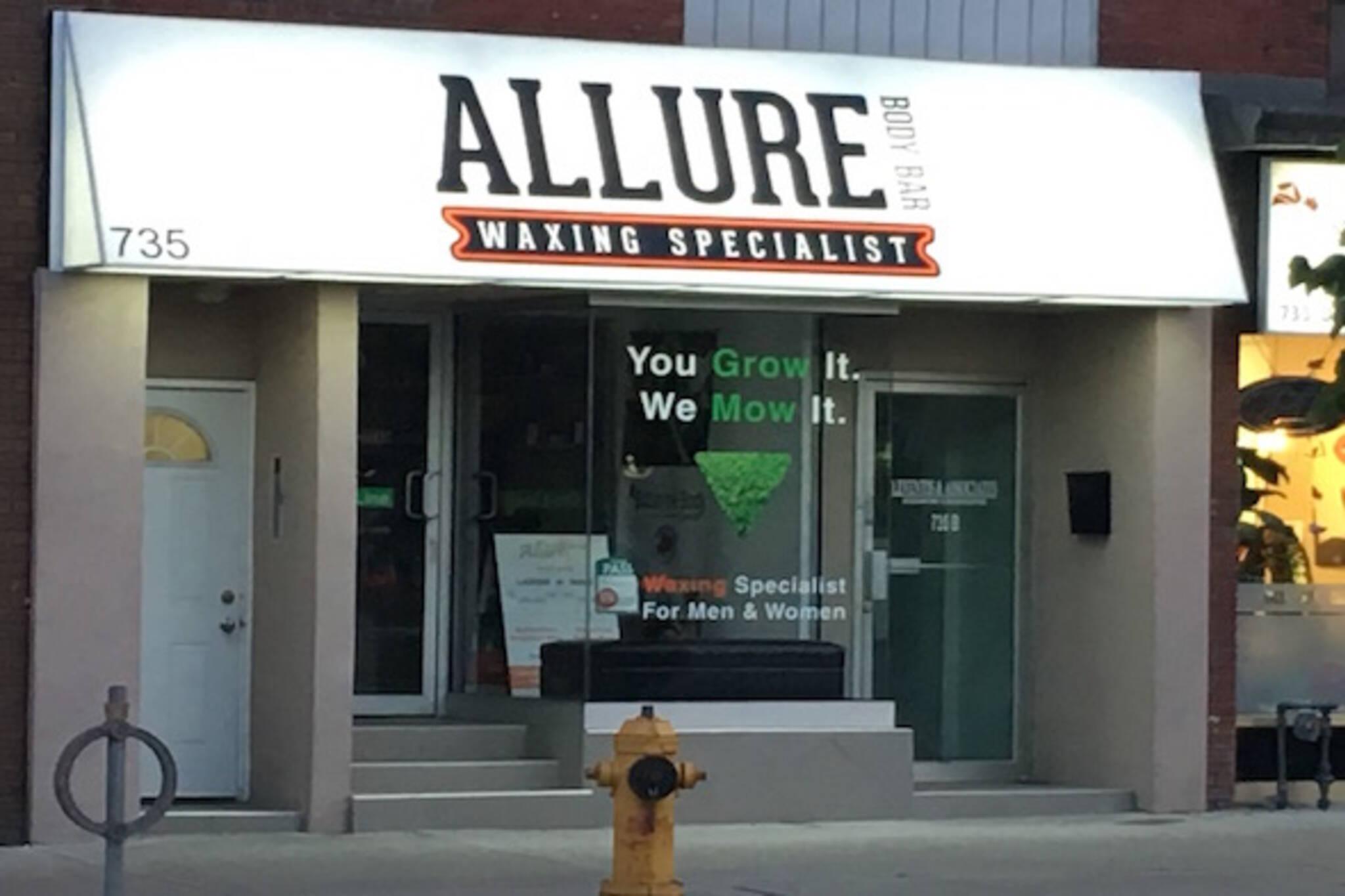 Allure Body Bar Toronto