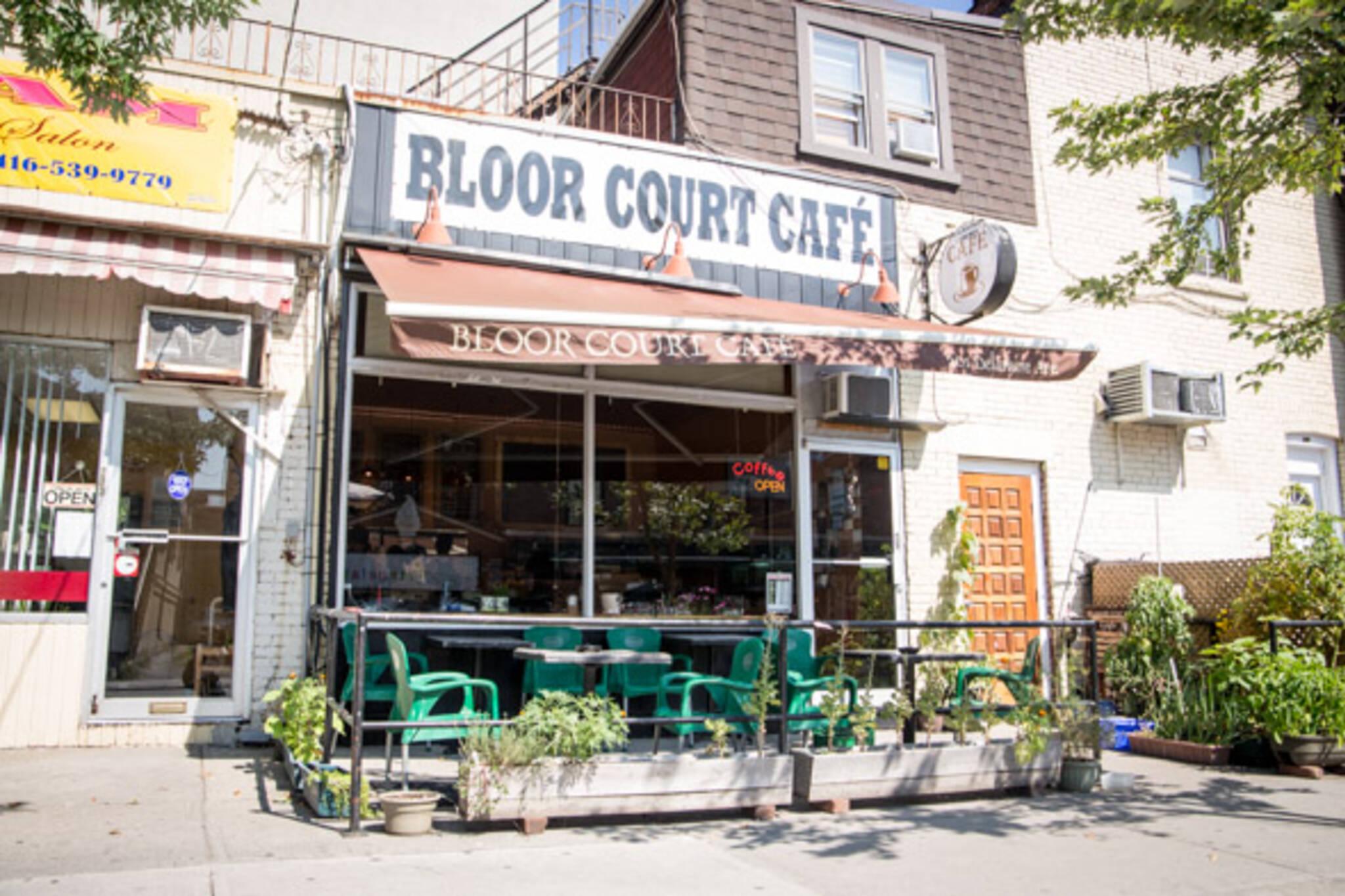 bloor court cafe toronto