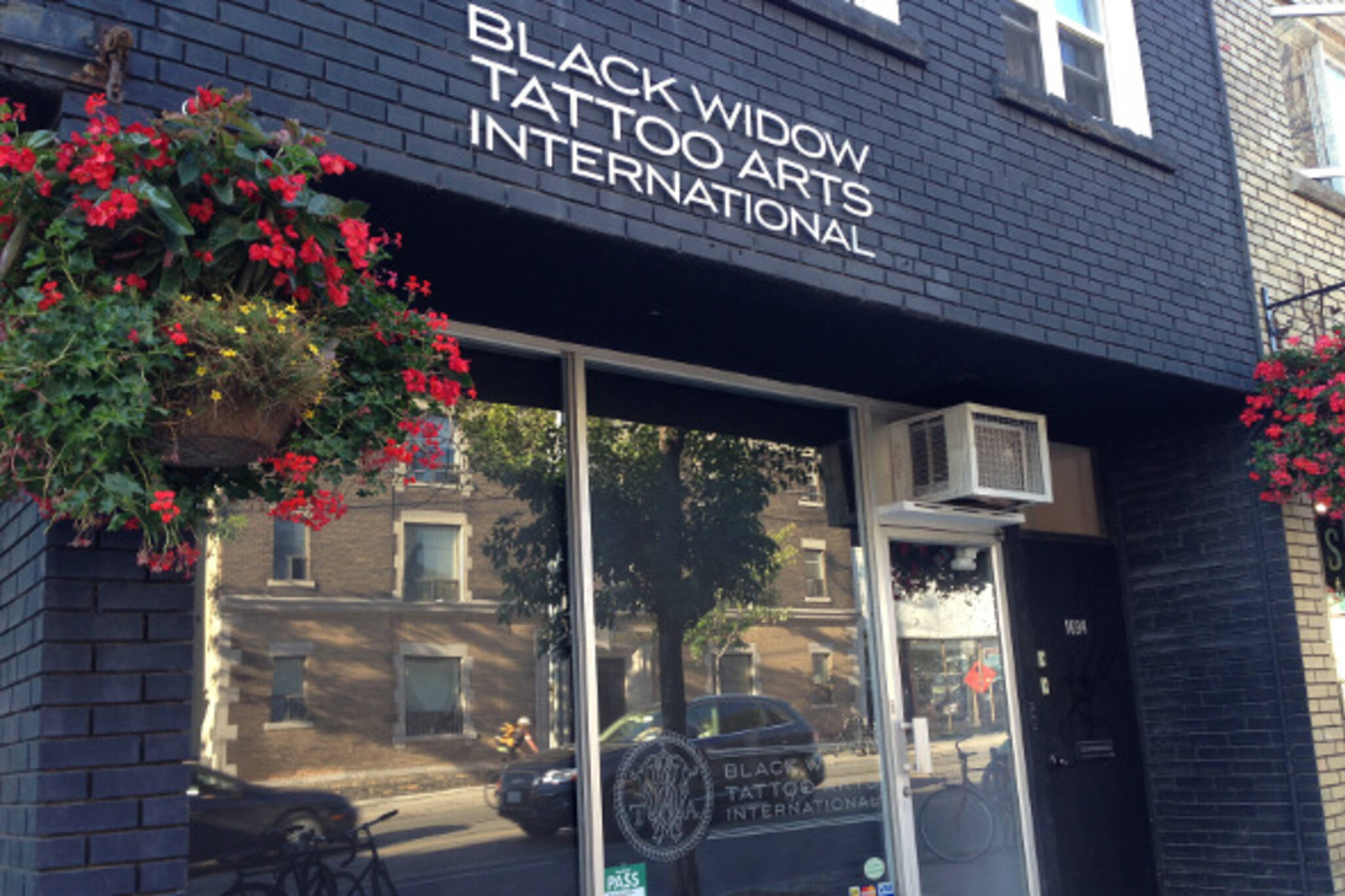 black widow tattoos toronto