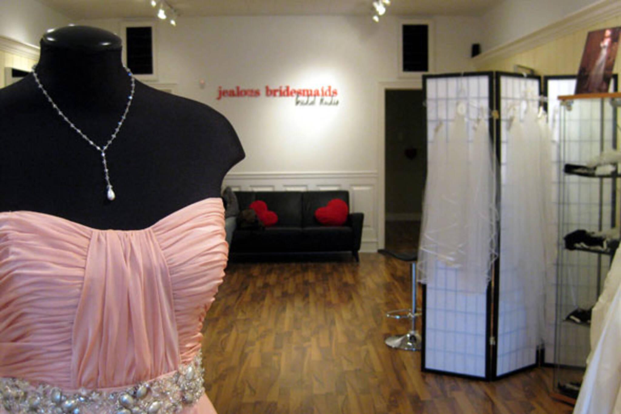 Jealous Bridesmaids Bridal Studio