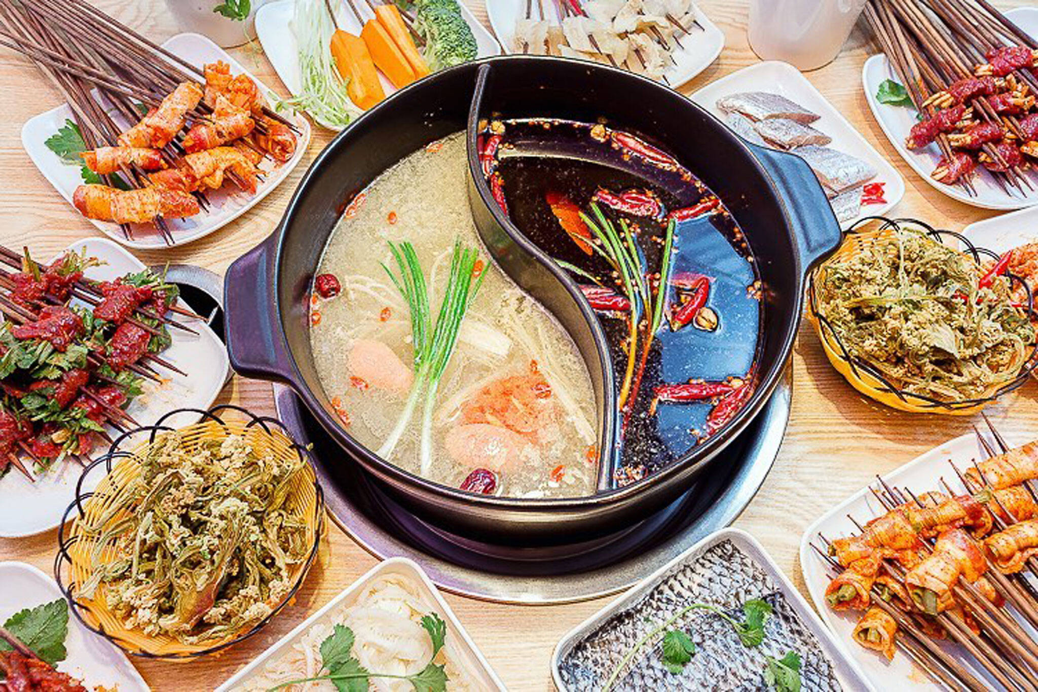 kungfu hot pot skewers toronto