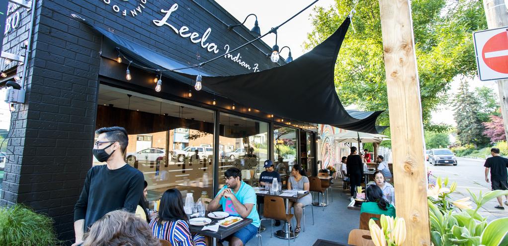 Leela Indian Food Bar on Gerrard