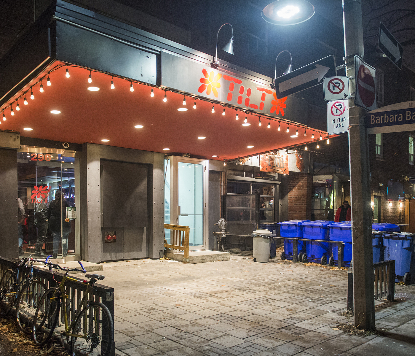 The Green Room Toronto Bar Menu