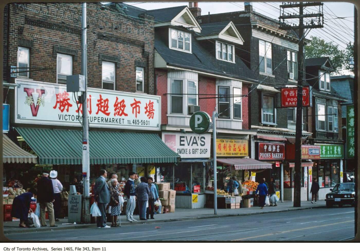 chinatown history toronto