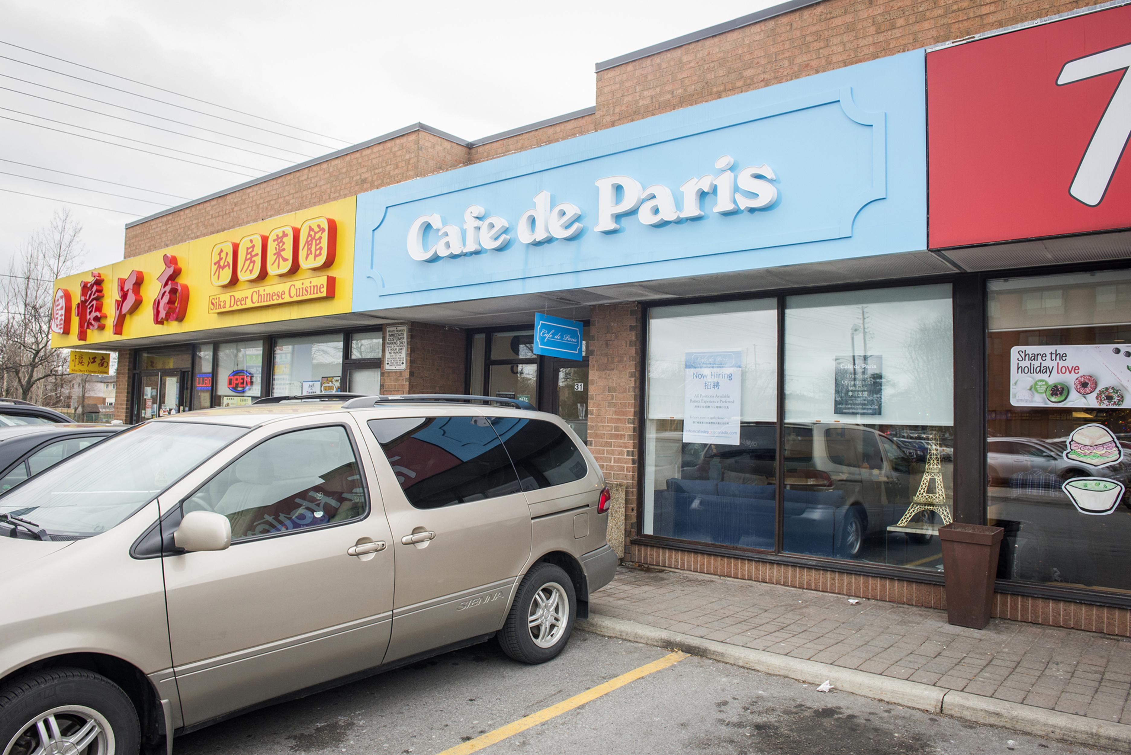 Cafe de Paris Toronto