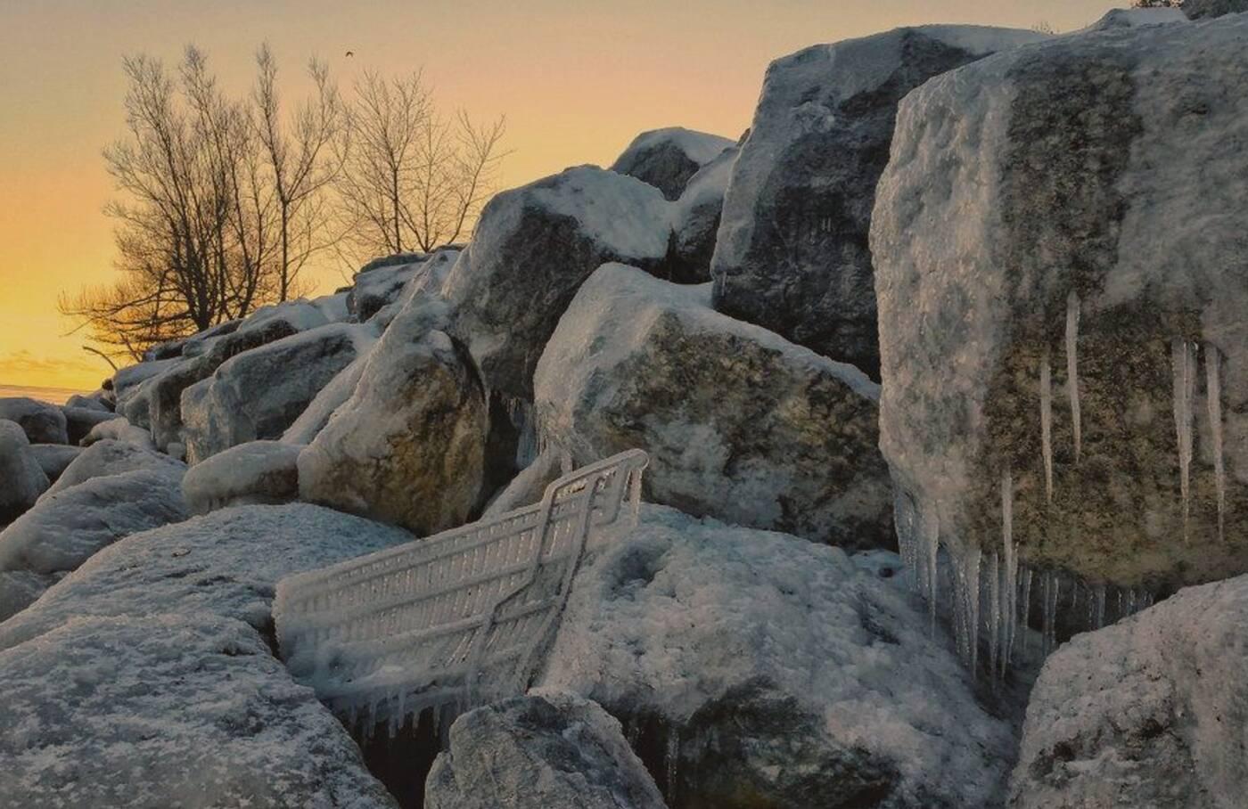 ice formations toronto