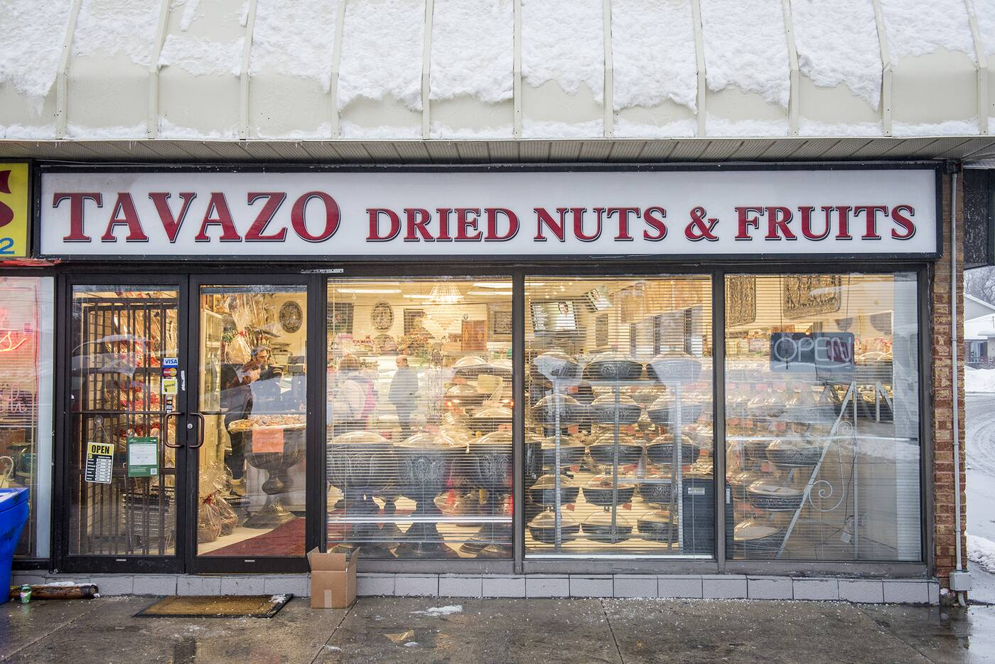 Tavazo nuts fruits Toronto