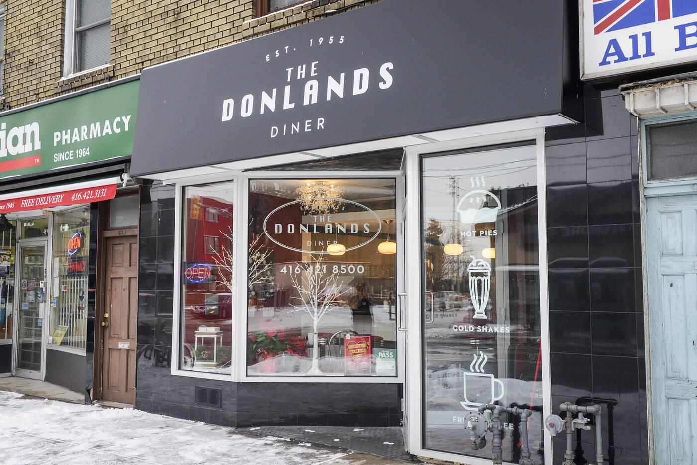 Donlands Diner Toronto