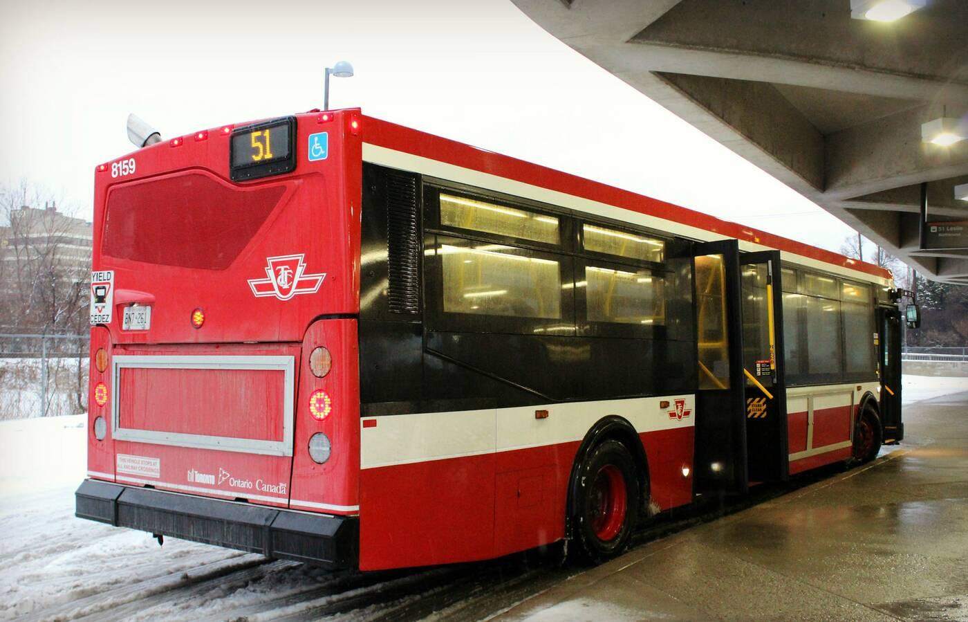 ttc new look bus