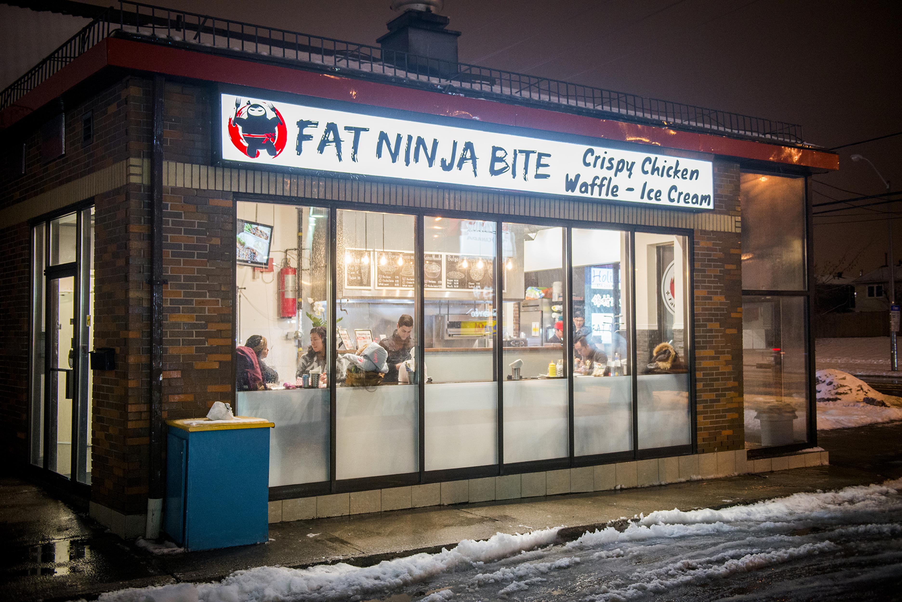 fat ninja bite