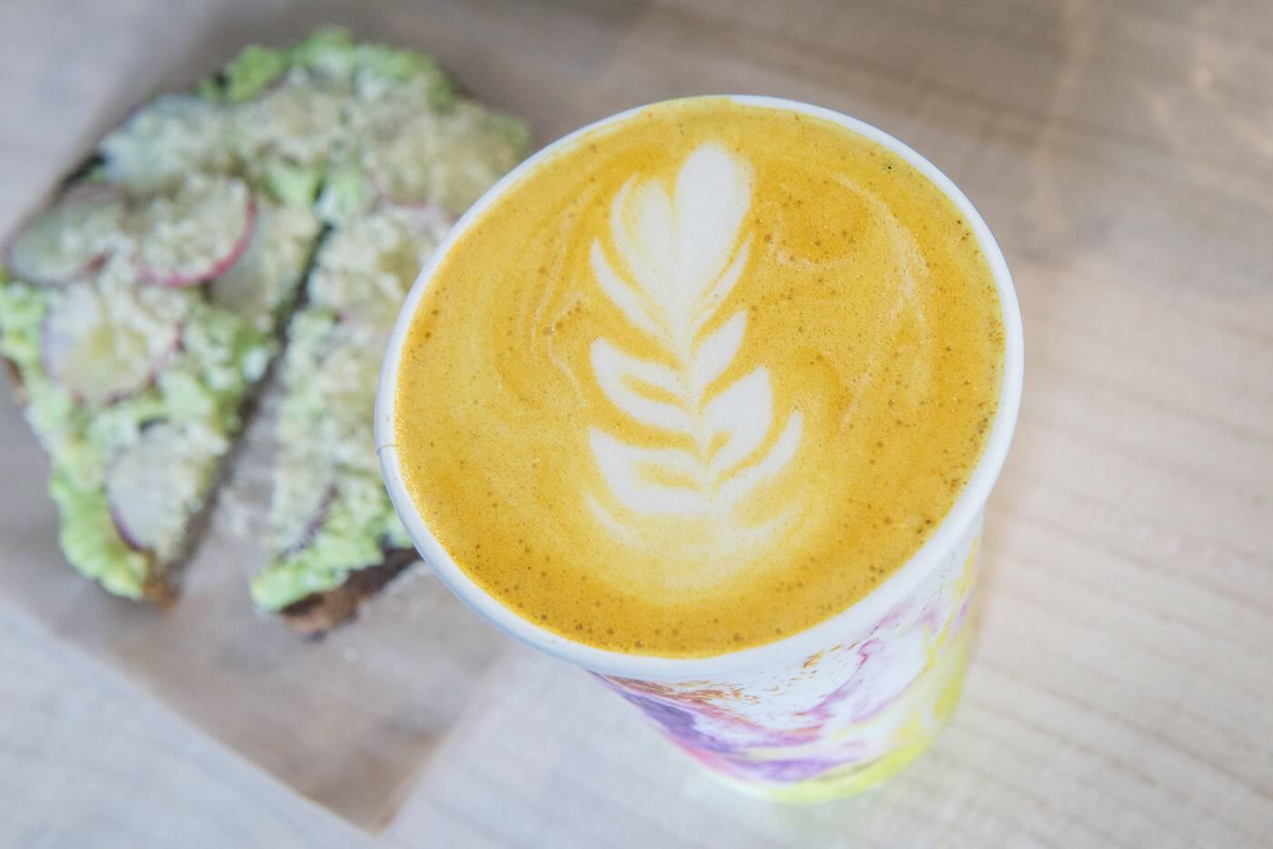 turmeric latte toronto