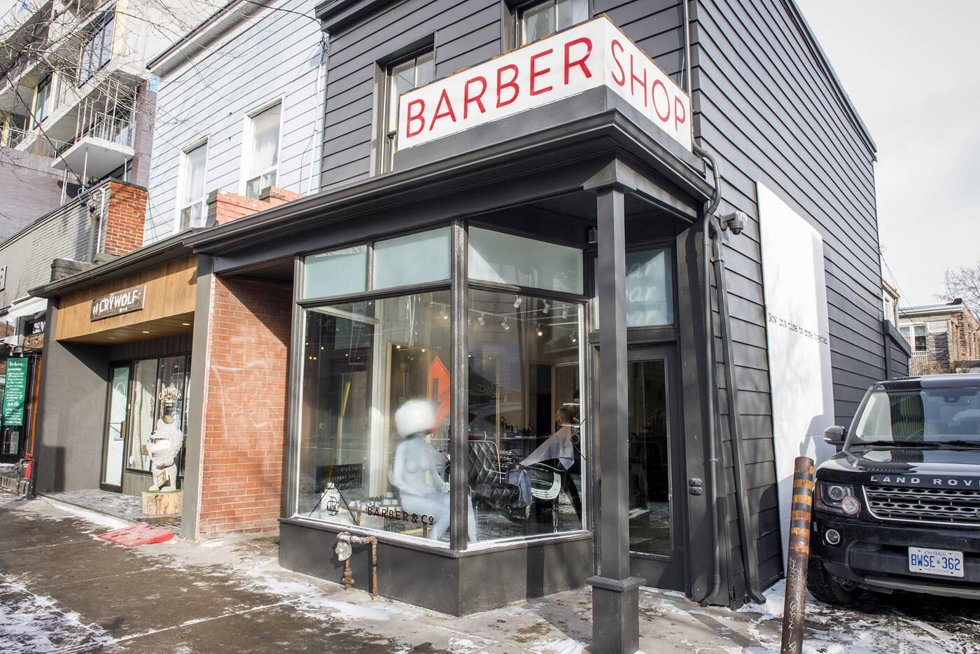 Barber Co Toronto