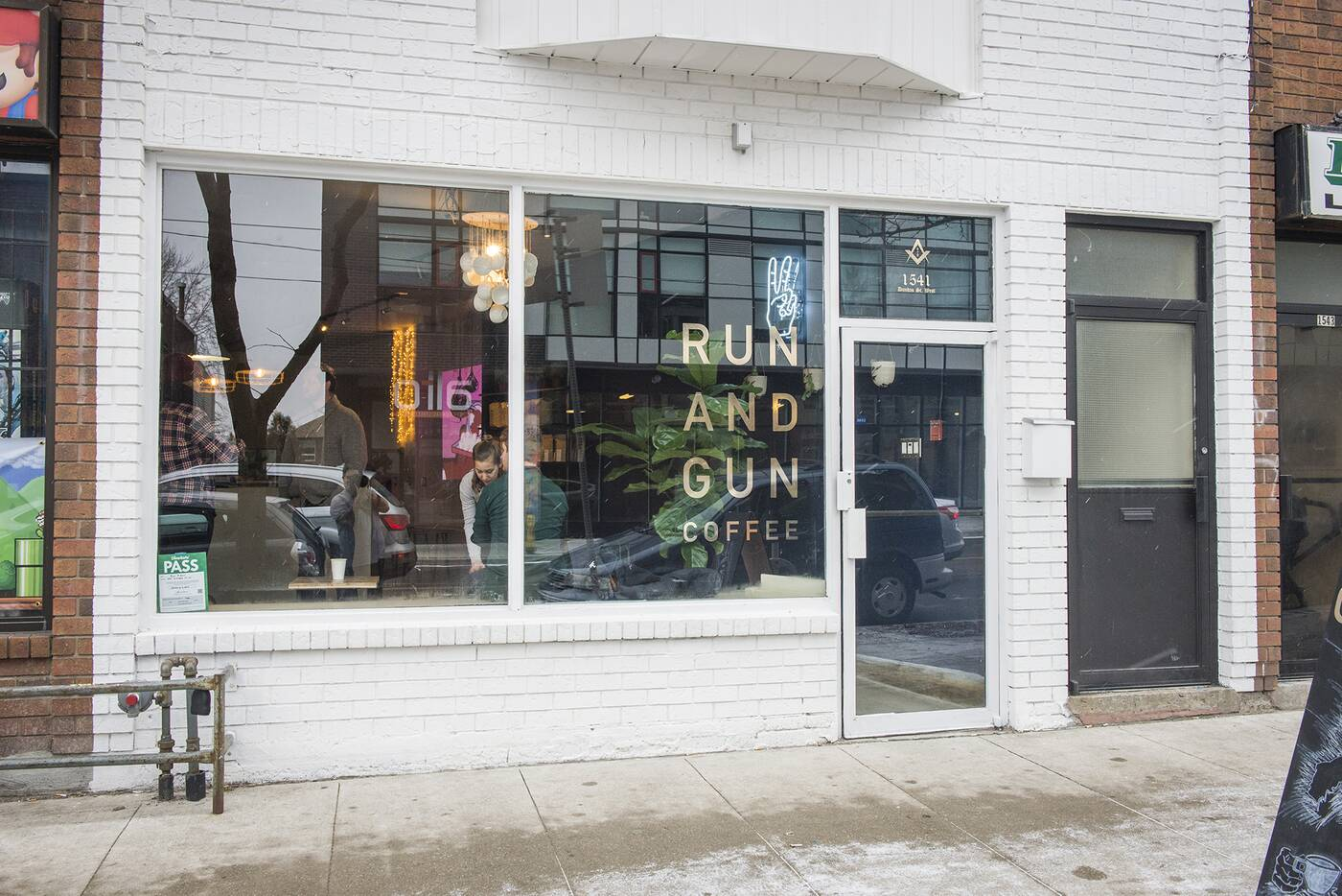 Run Gun Coffee Toronto