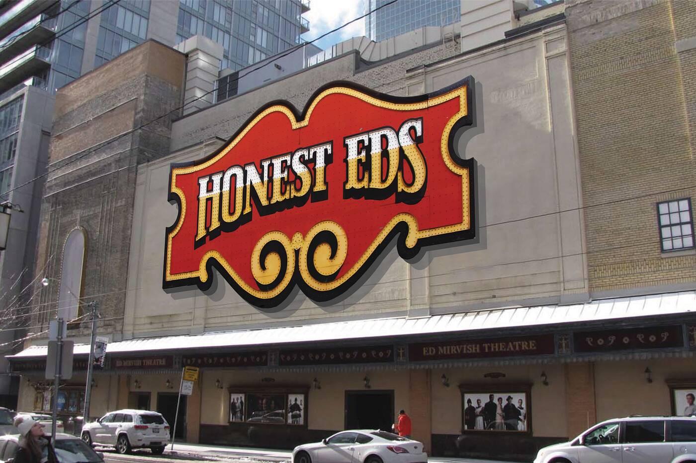 honest eds sign
