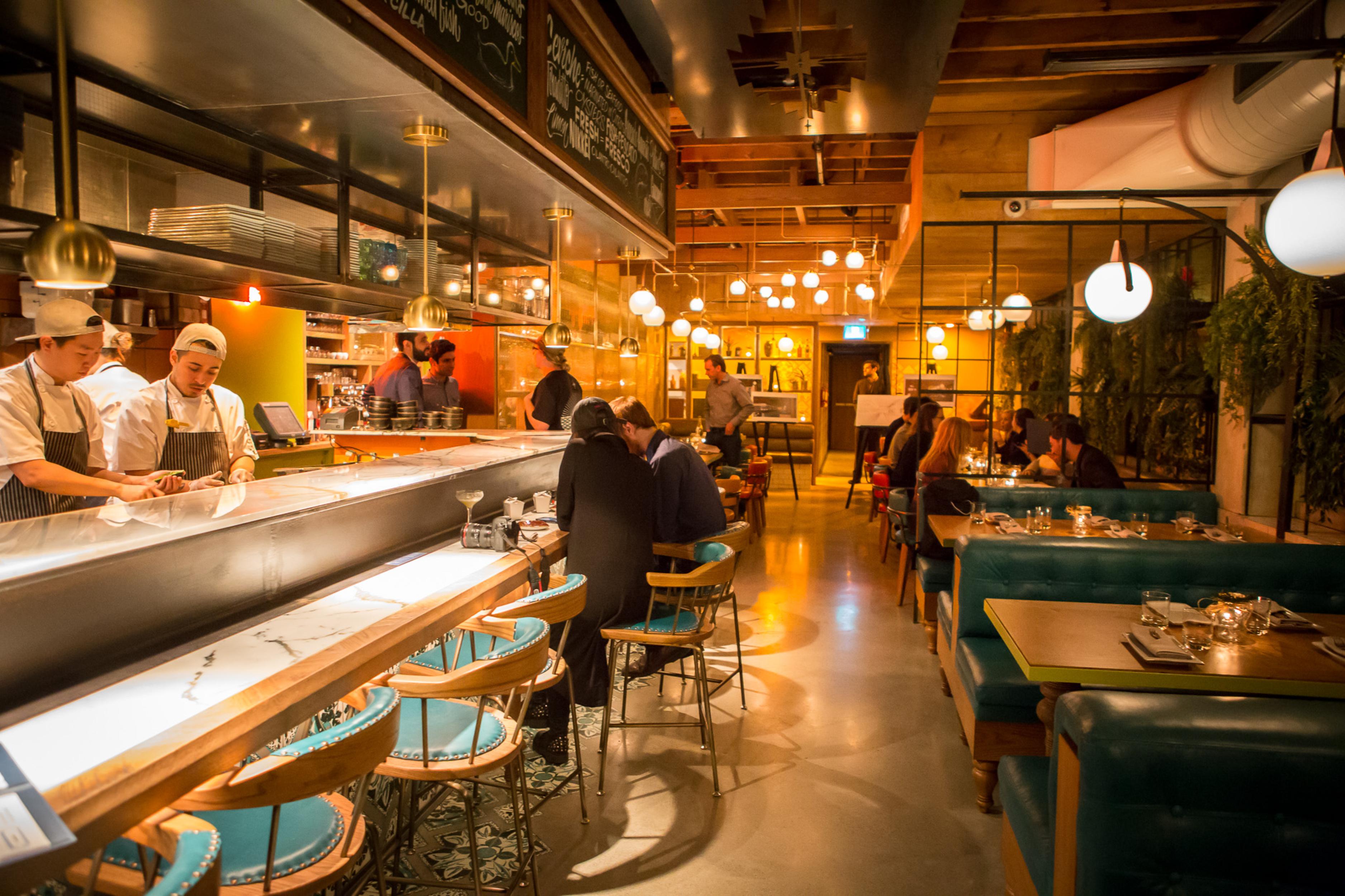 10 New Restaurants With Beautiful Interior Design In Toronto