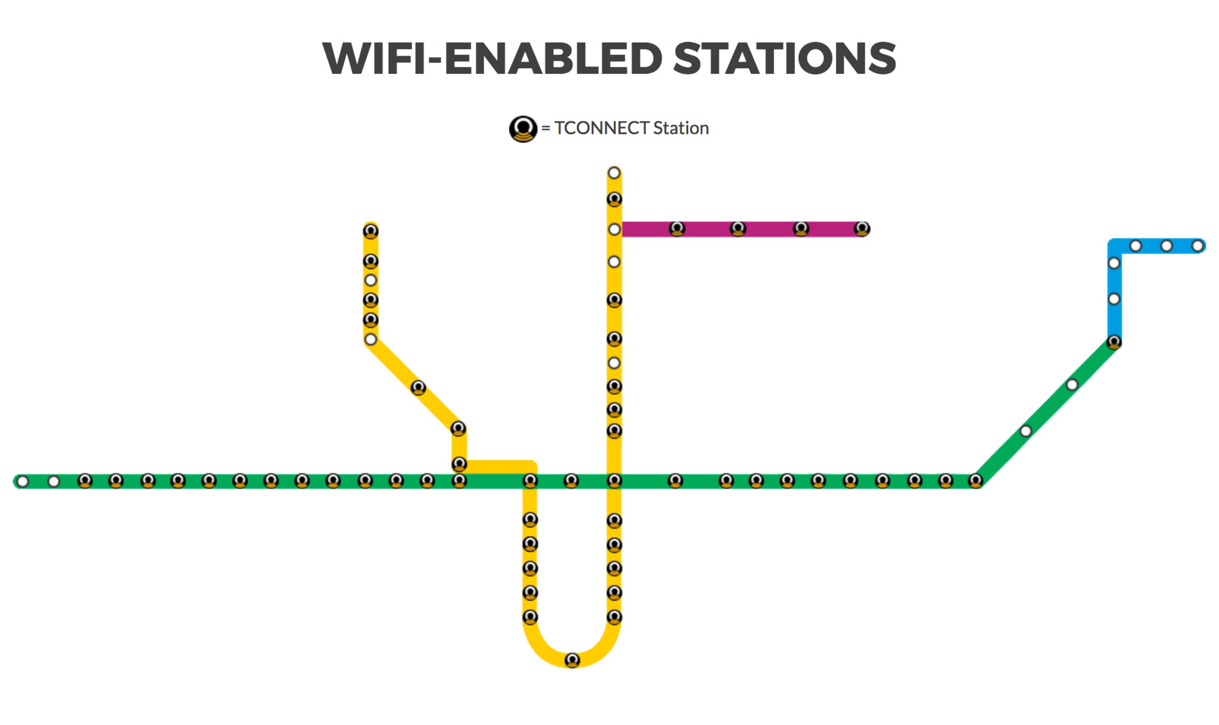 ttc wifi map