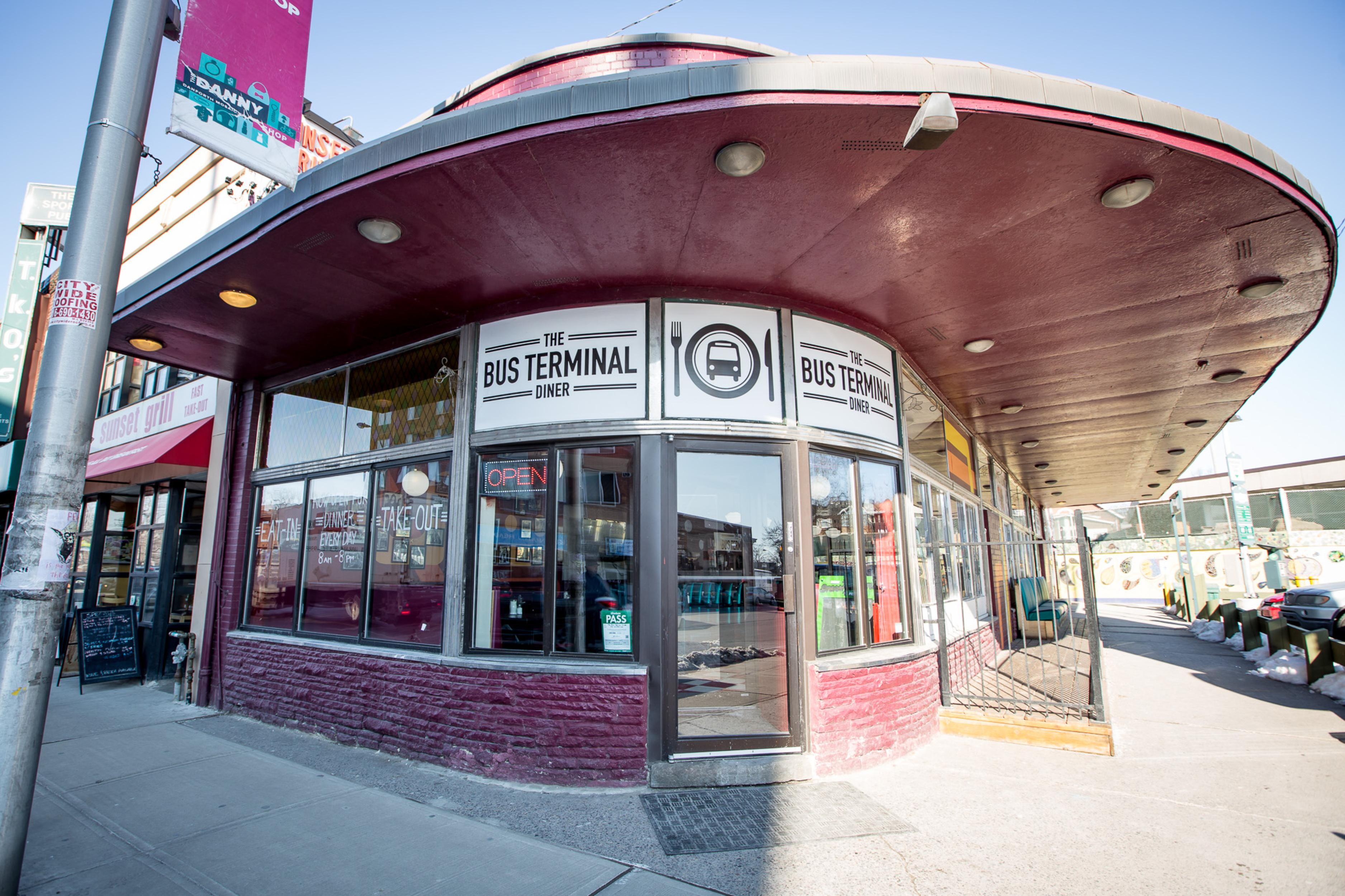 Bus Terminal Diner Toronto