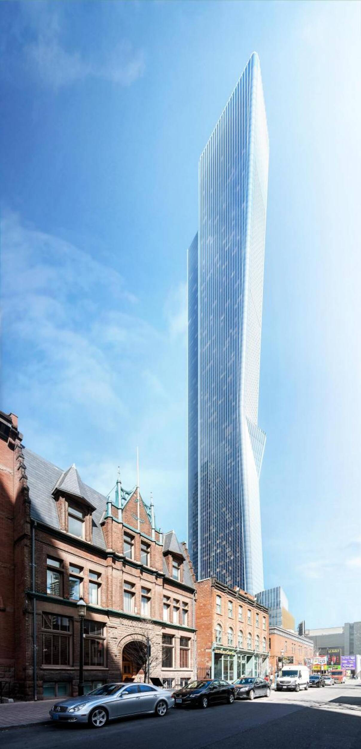 tallest building toronto