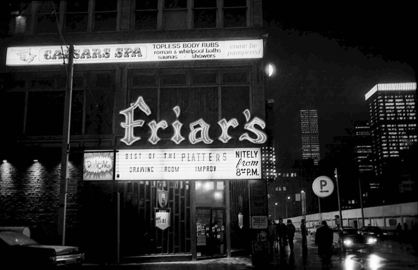 Friars Tavern Toronto