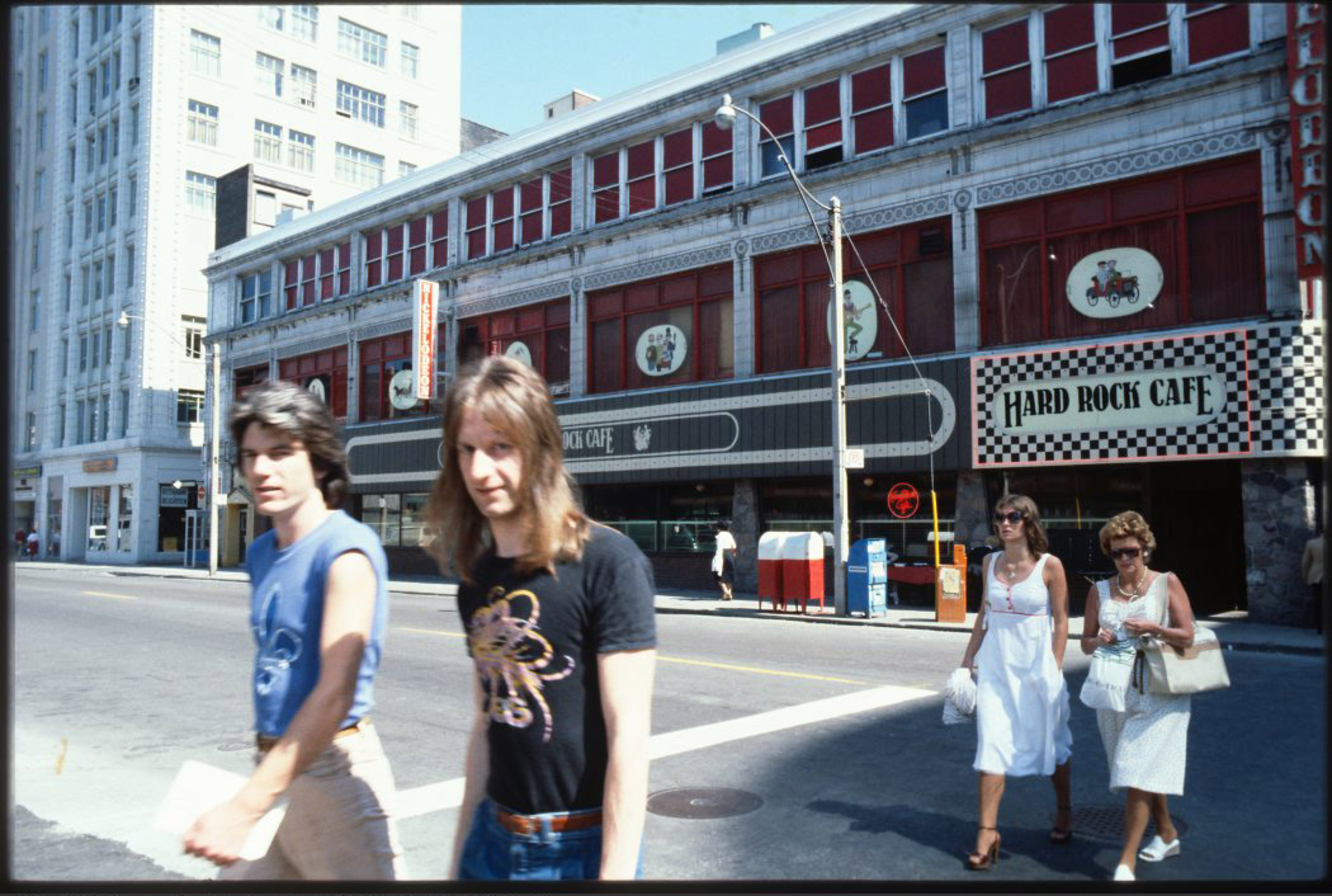 Hard Rock Cafe Toronto 1970s