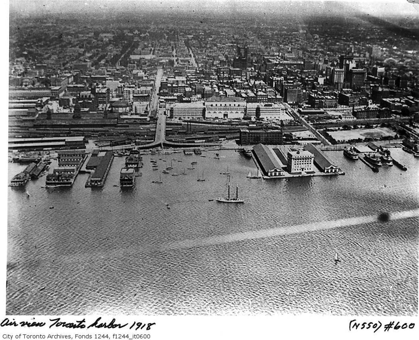 toronto waterfront 1910